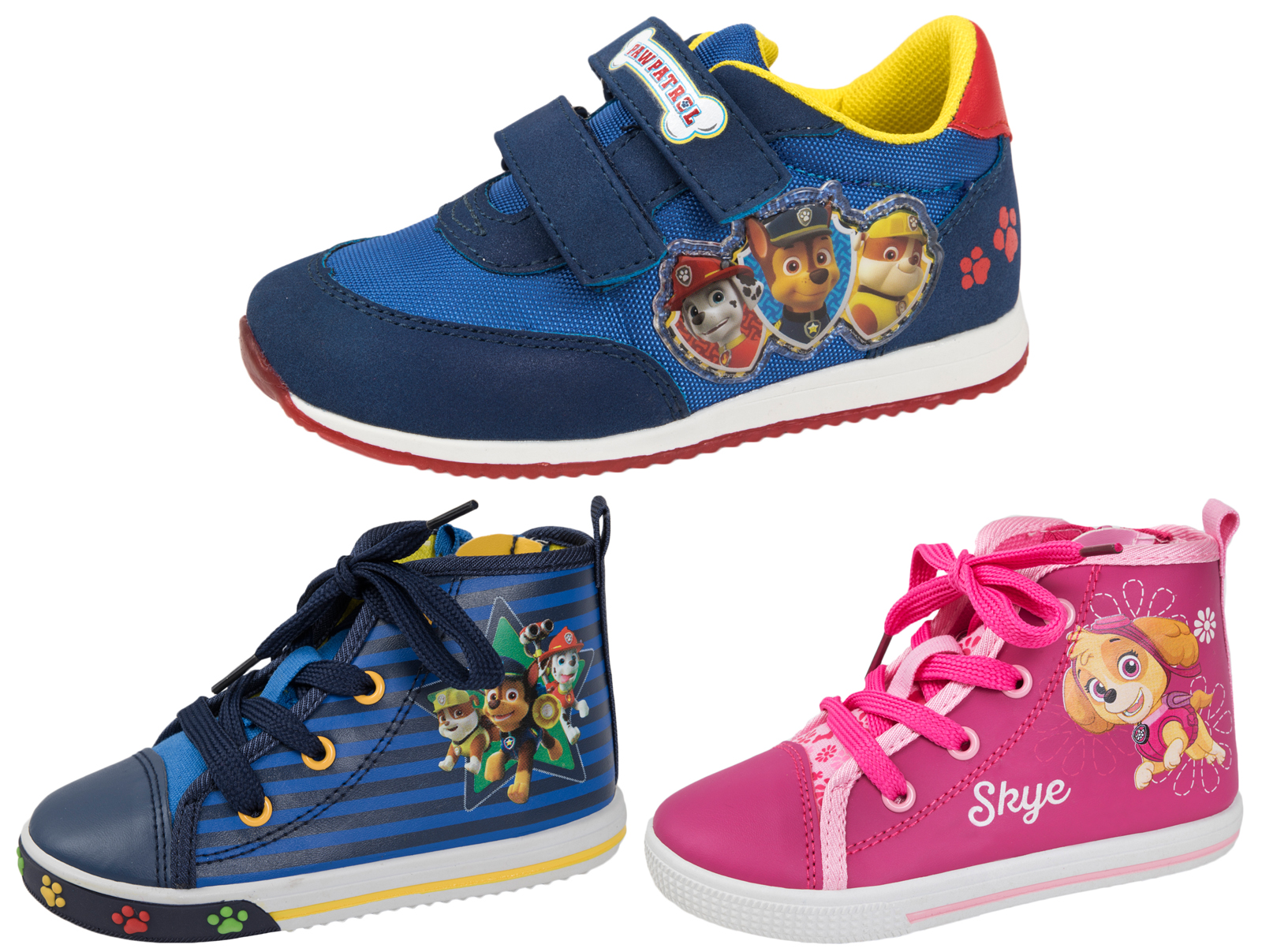Paw Patrol Toddler Trainers Easy Touch