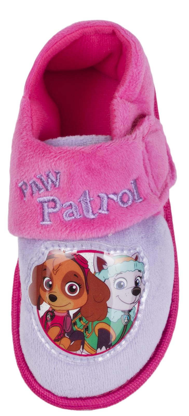 Chicas Paw Patrol Zapatillas carácter Skye Everest Velcro Botines Pantuflas Niños Talla