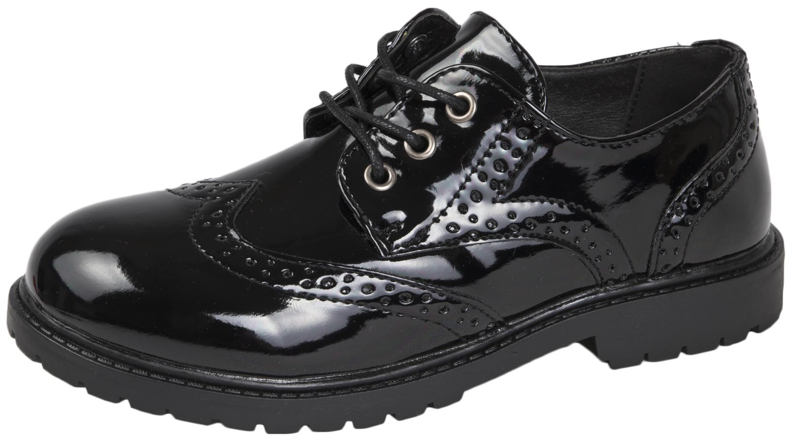 Patent School Shoes