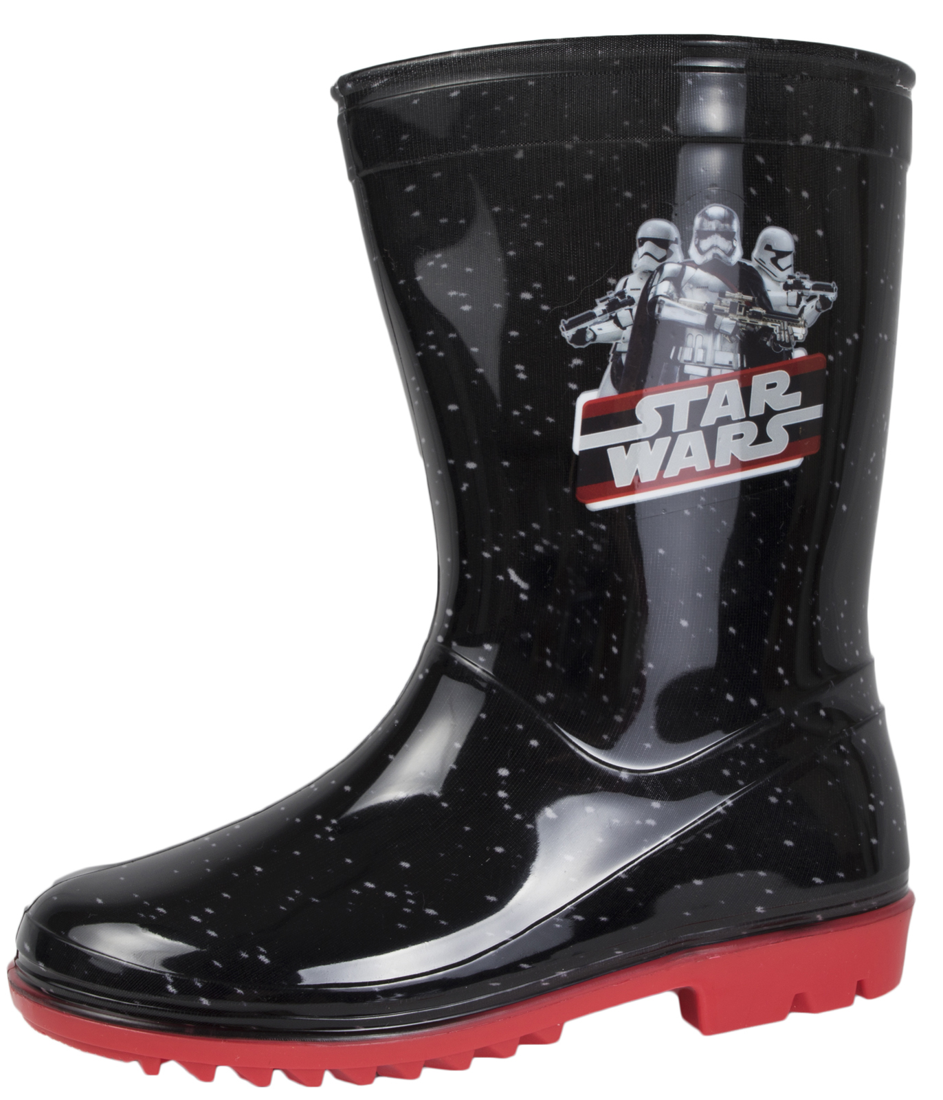 Disney Star Wars Wellington Boots Darth Vader Wellies Kids Boys Snow Rain Boots