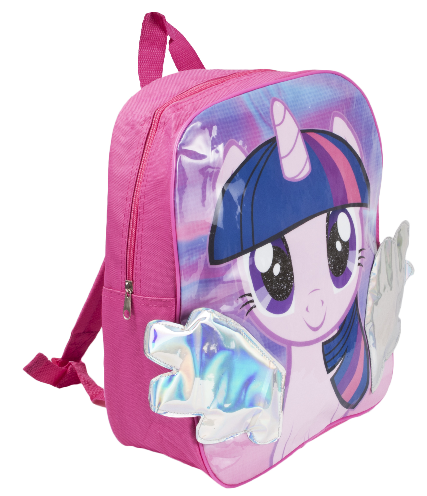fde764bc32 Girls My Little Pony 3D Backpack Rainbow Dash Kids School Lunch Book Bag  Nursery
