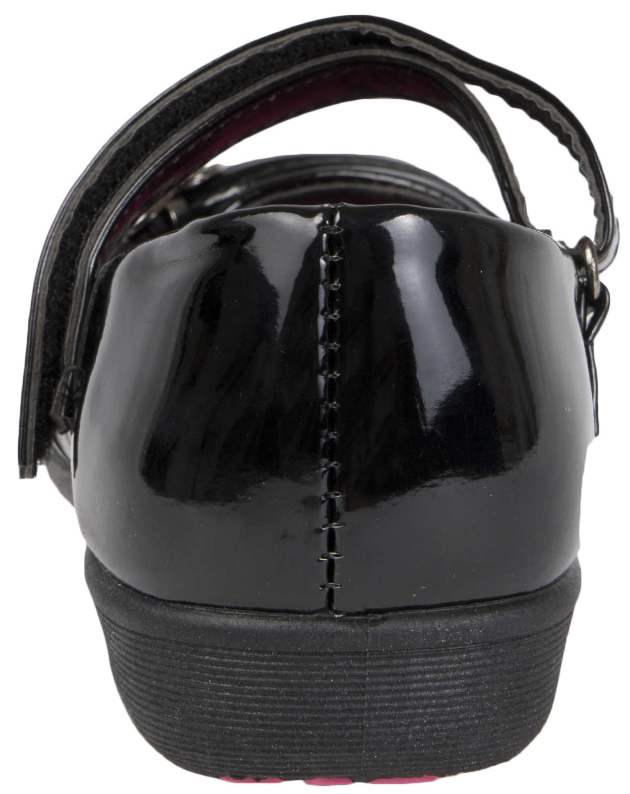 Girls Black School Shoes Faux Leather Mary Jane Strap Party Shoes Pumps Size