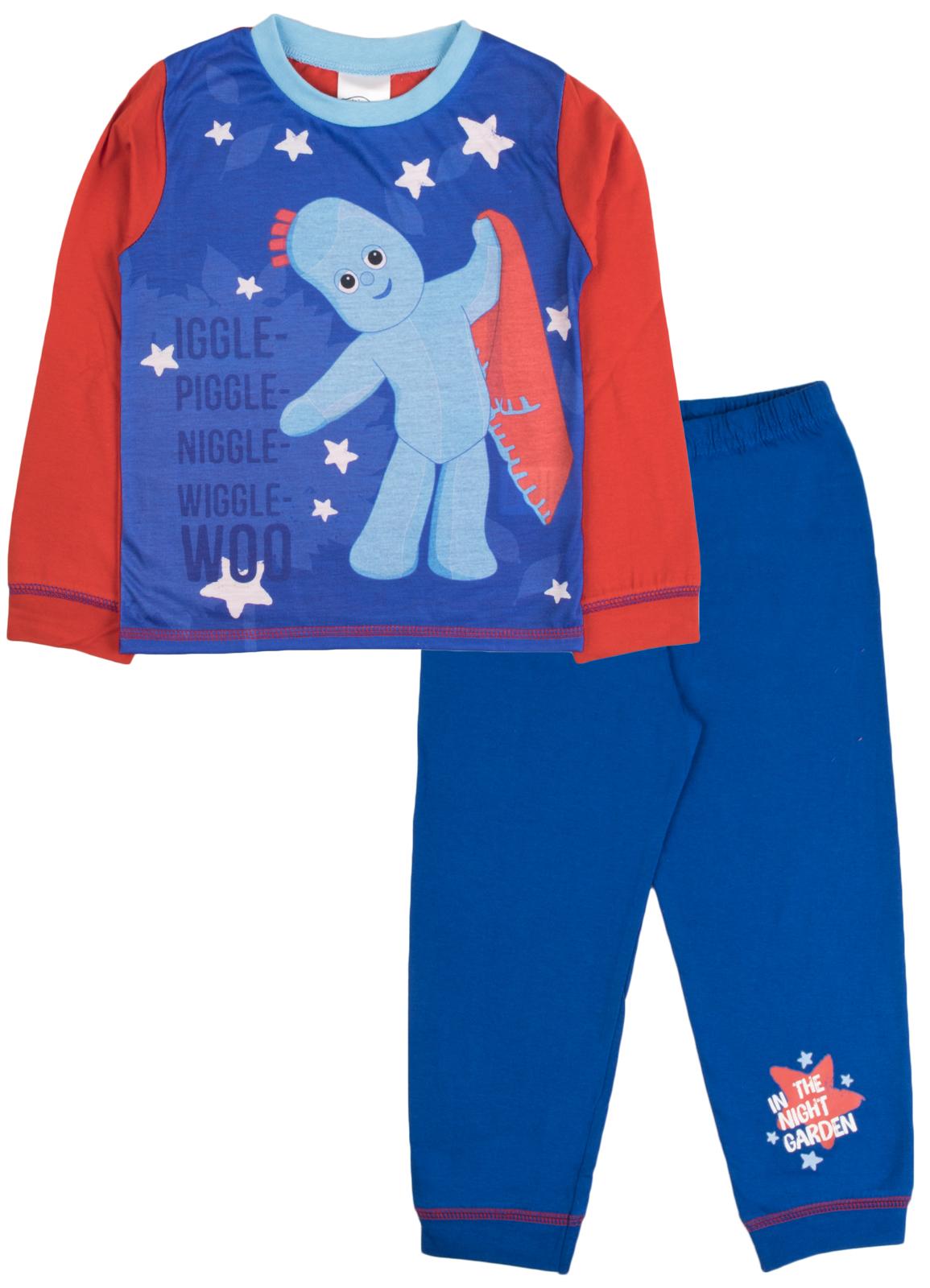 Kids In The Night Garden Pyjamas Boys Girls Pjs Itng 2