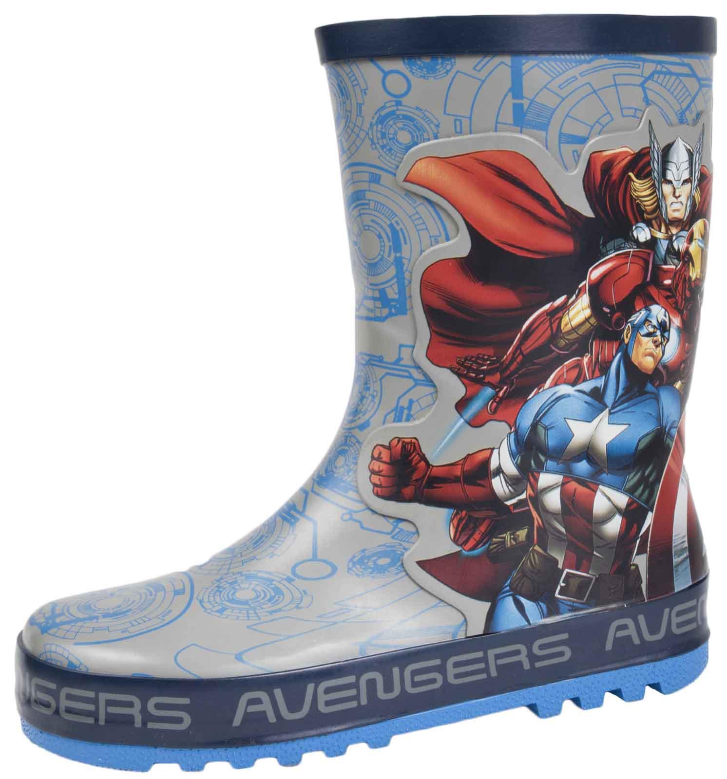 Childs Marvel Avengers Force Wellington Boots