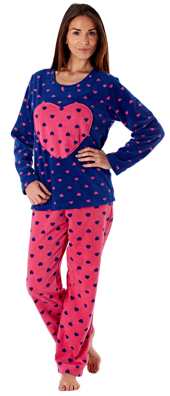 Looking for the perfect pair of flannel pajamas to help her snuggle up in style? Made from super-soft fabrics like flannel and fleece, these great PJs and nightgowns are cozy, warm, and cut to give her the comfort you know she's been craving.