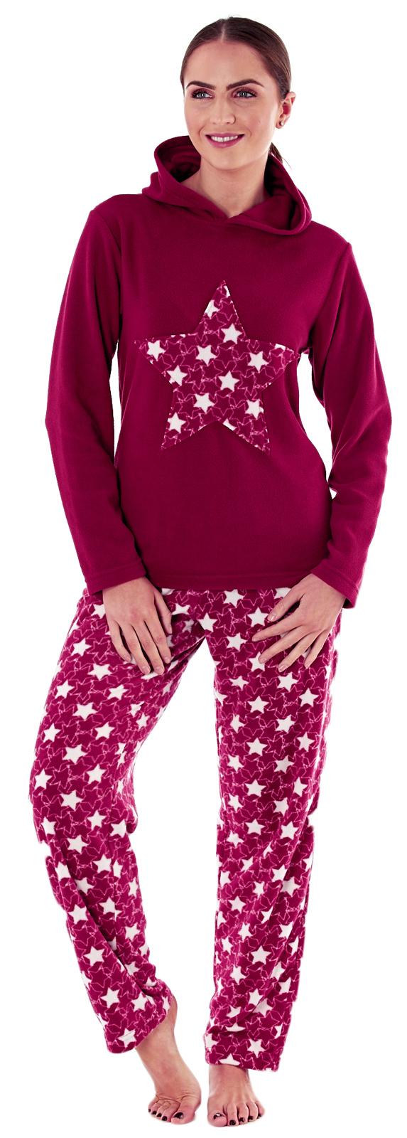 62472d0384 Womens Lounge Set Fleece Pyjamas Twosie Ladies Lounge Pants + Jumper ...