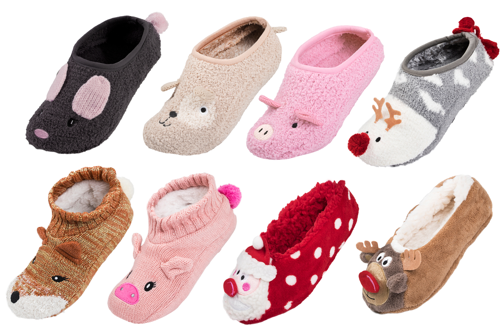 beds for girls slipper socks 3d footlets character 11773