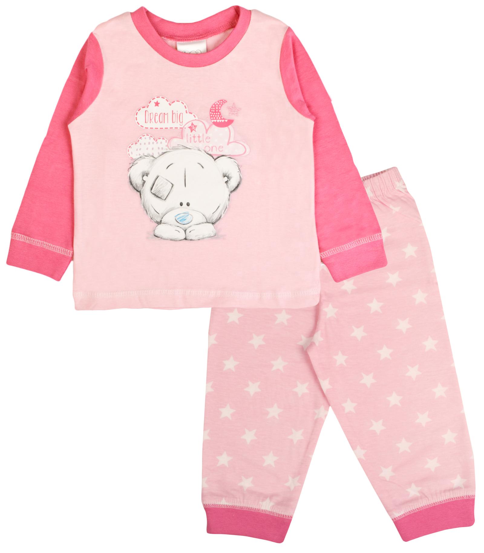 Baby Girls Pyjamas Kids Toddlers Me To You Pjs Cute Tatty ...