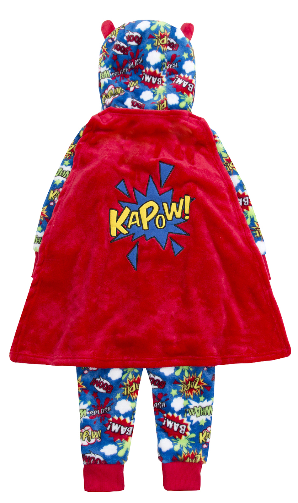 910f8e534c04 Boys Girls 3D Novelty All In One Onezee Dress Up Fleece Kids Pyjamas ...