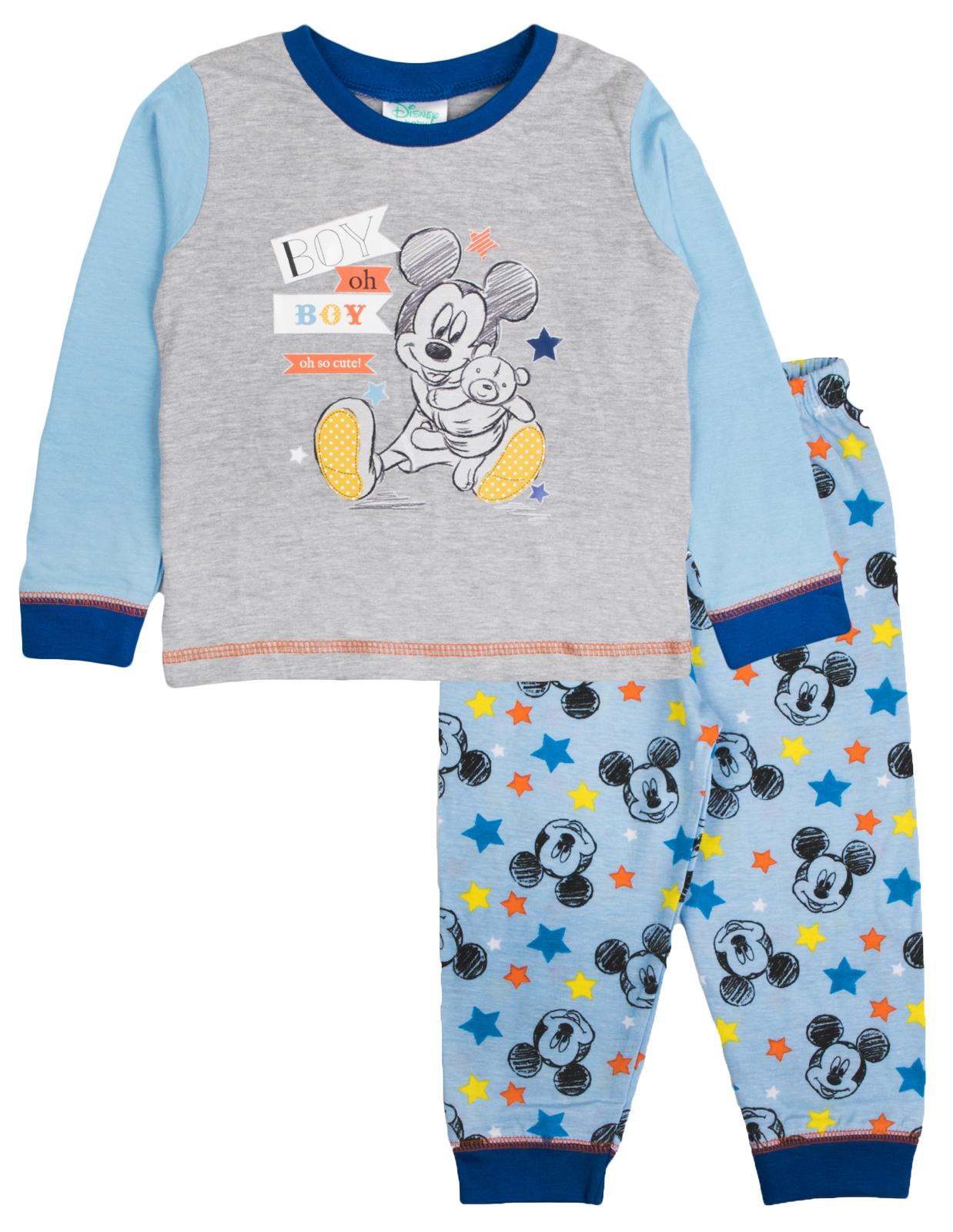 Baby Boys Girls Pyjamas Toddlers Disney Mickey Minnie