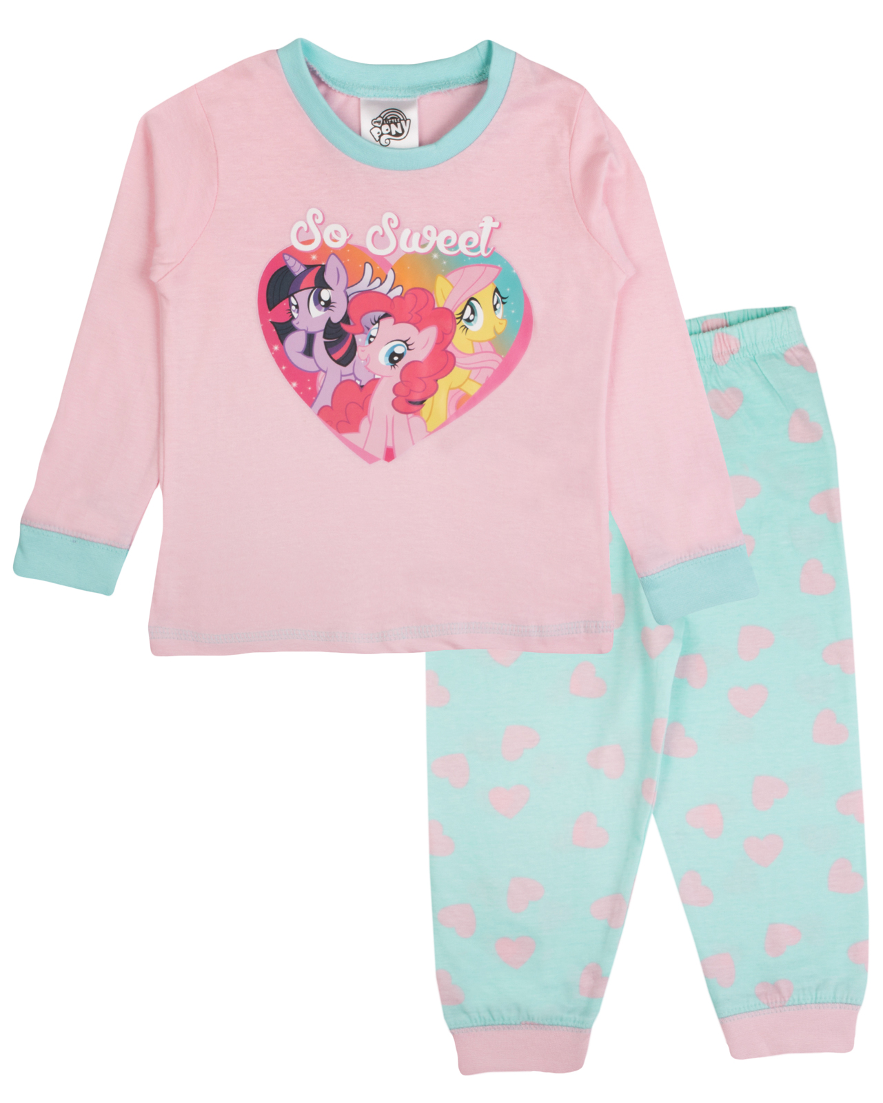 Baby Girls My Little Pony Kids Toddlers Mlp Pyjamas