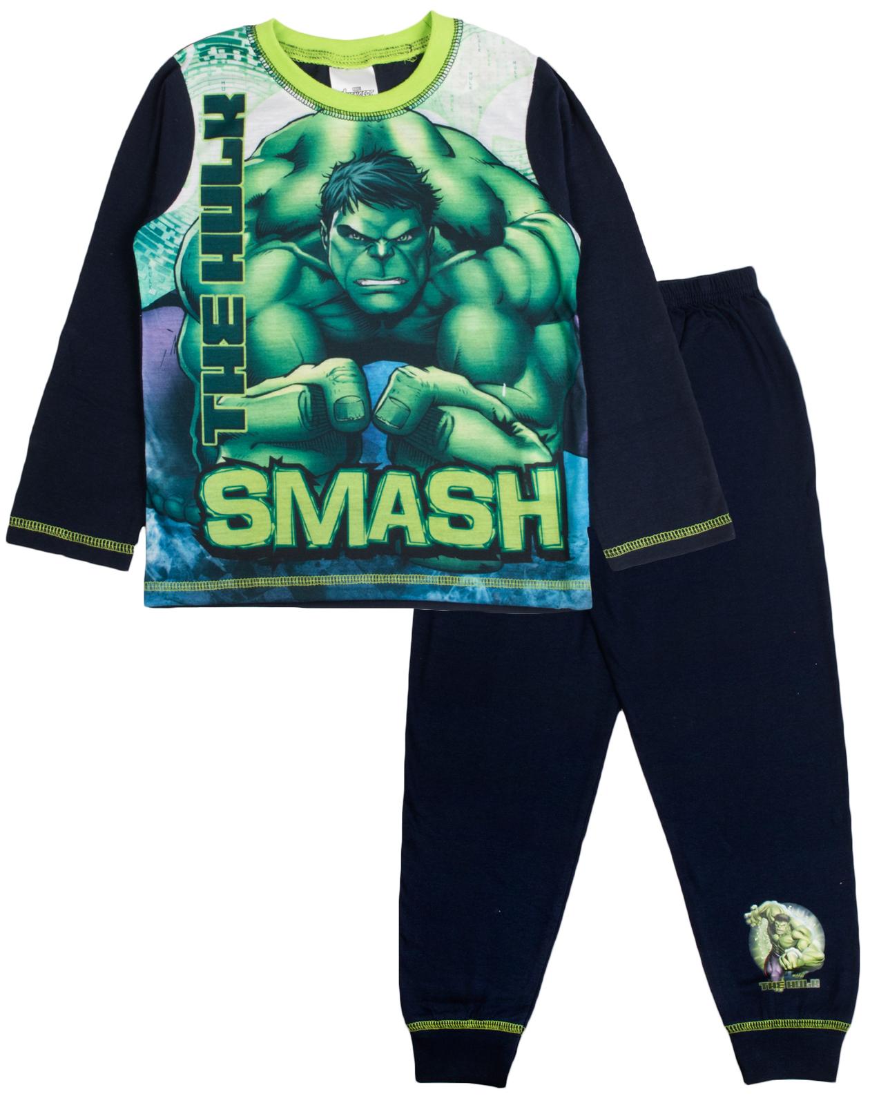 The Incredible Hulk Fist Chicos Pijamas 9-10 a/ños