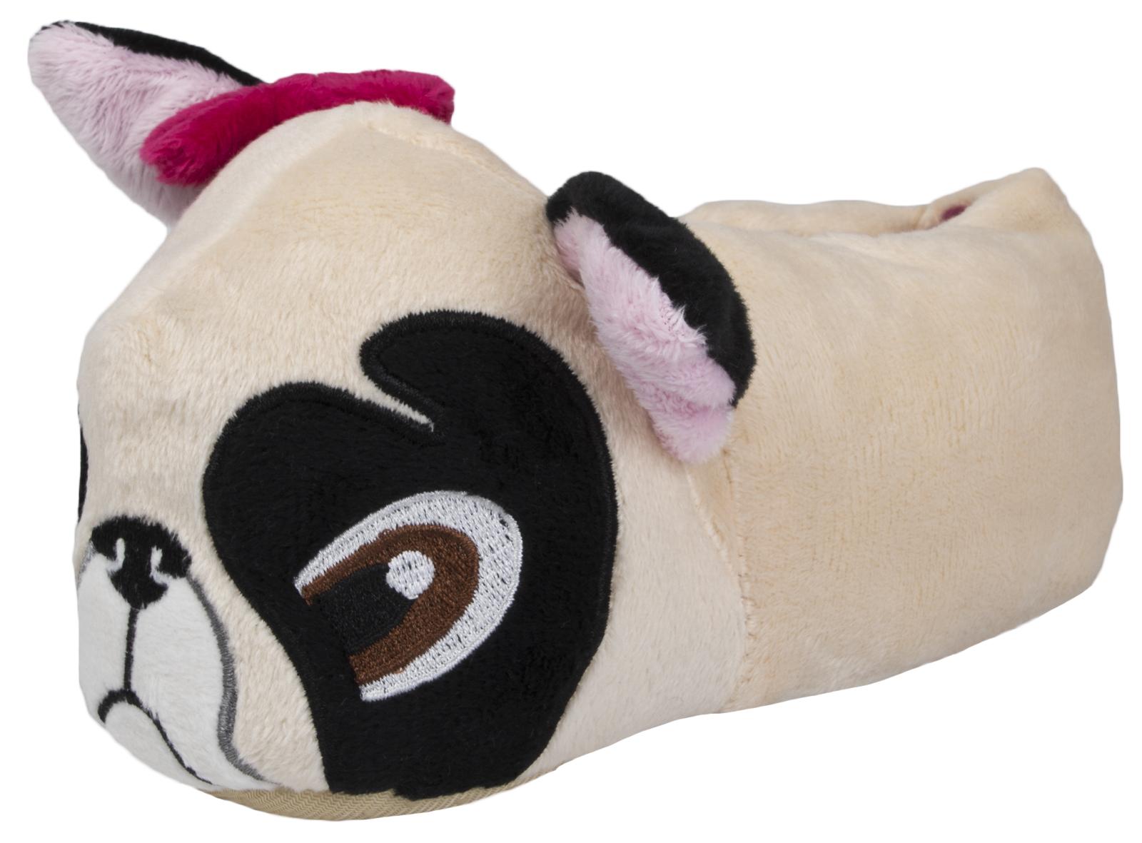 Panda Novelty Kids Childrens Character 3D Plush Non Slip Slippers Boys Girls