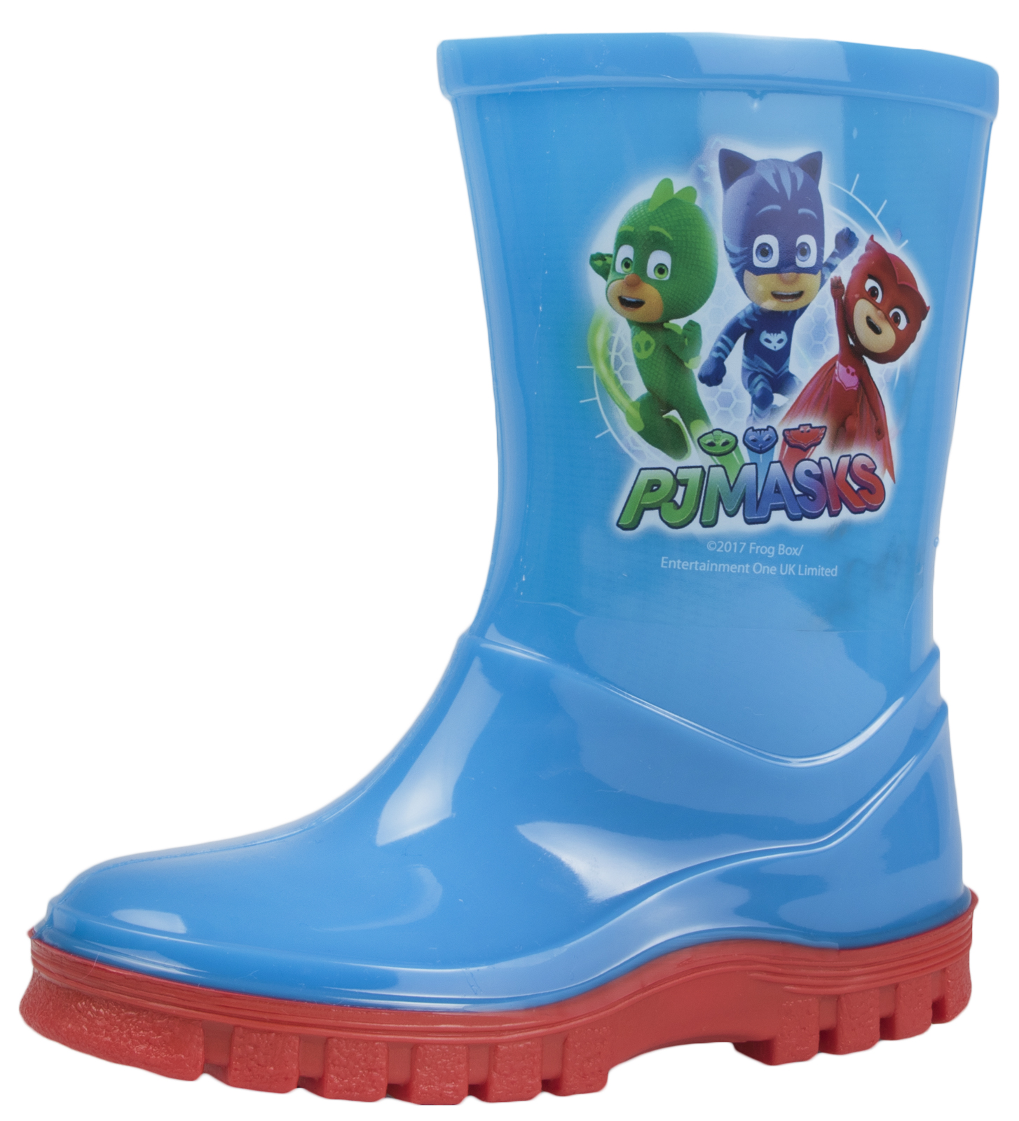 BOYS NEW PJ MASKS RUBBER WELLIES WELLY WELLINGTON RAIN SNOW BOOTS SIZE 5-12