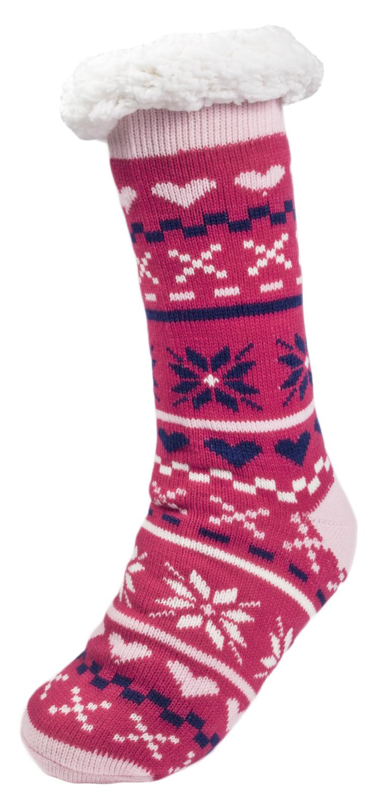 Para mujeres Damas Niñas niños Piel Forrada Zapatilla Calcetines Botas al tobillo Botines Size UK 4-7
