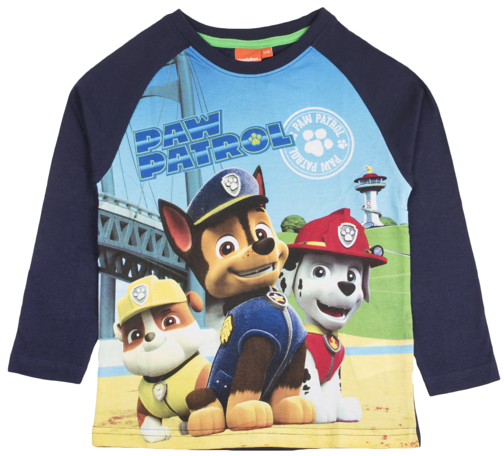 Details about Official Paw Patrol Girls Boys Kids Long Sleeve Top Character  Chase Skye T-Shirt