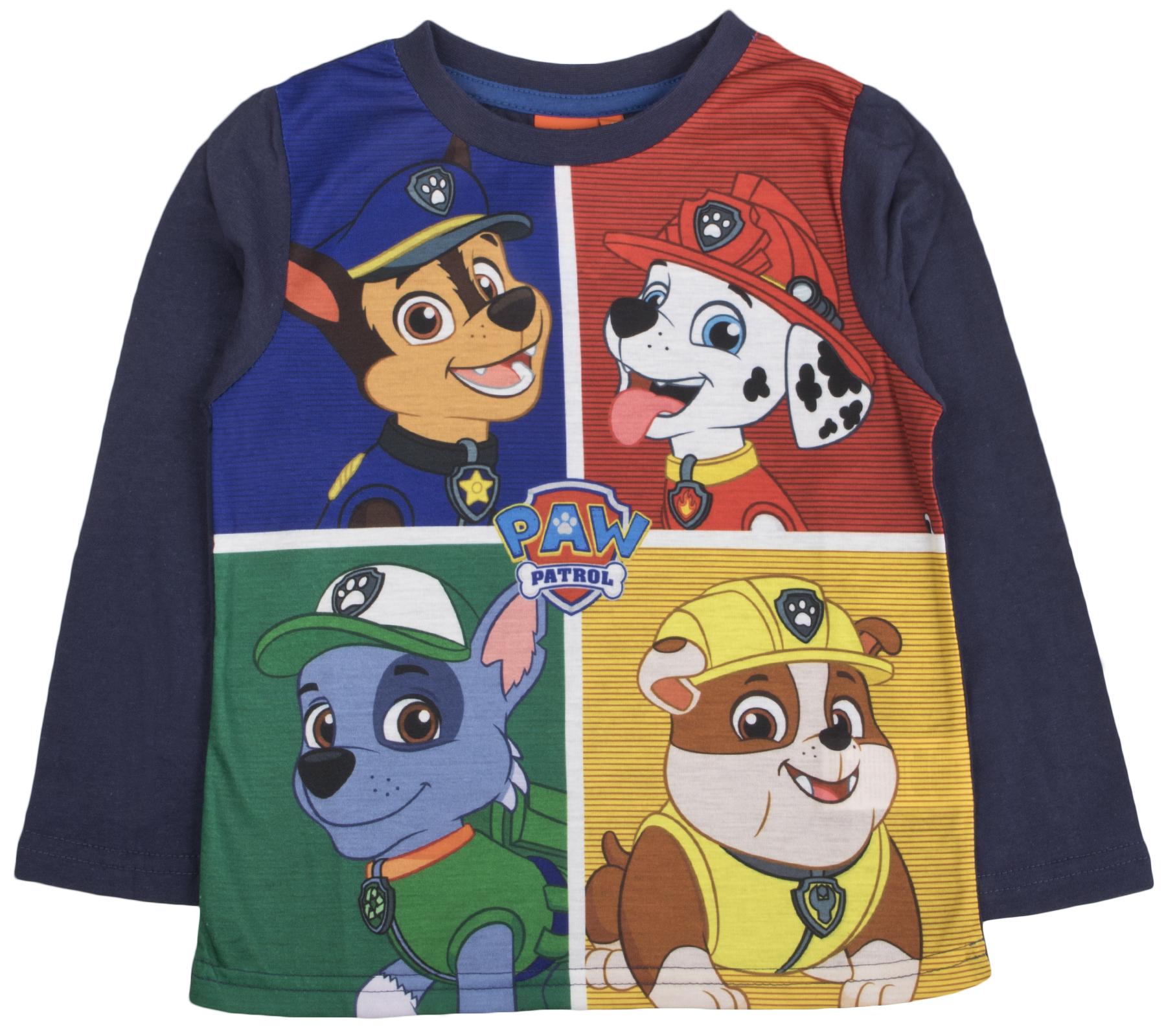 Girls Paw Patrol Long Sleeve T-Shirt Tops