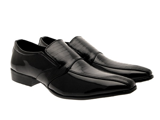 Mens Black Comfort Shoes Touch Fastening Slip Ons or Lace Ups All UK Sizes