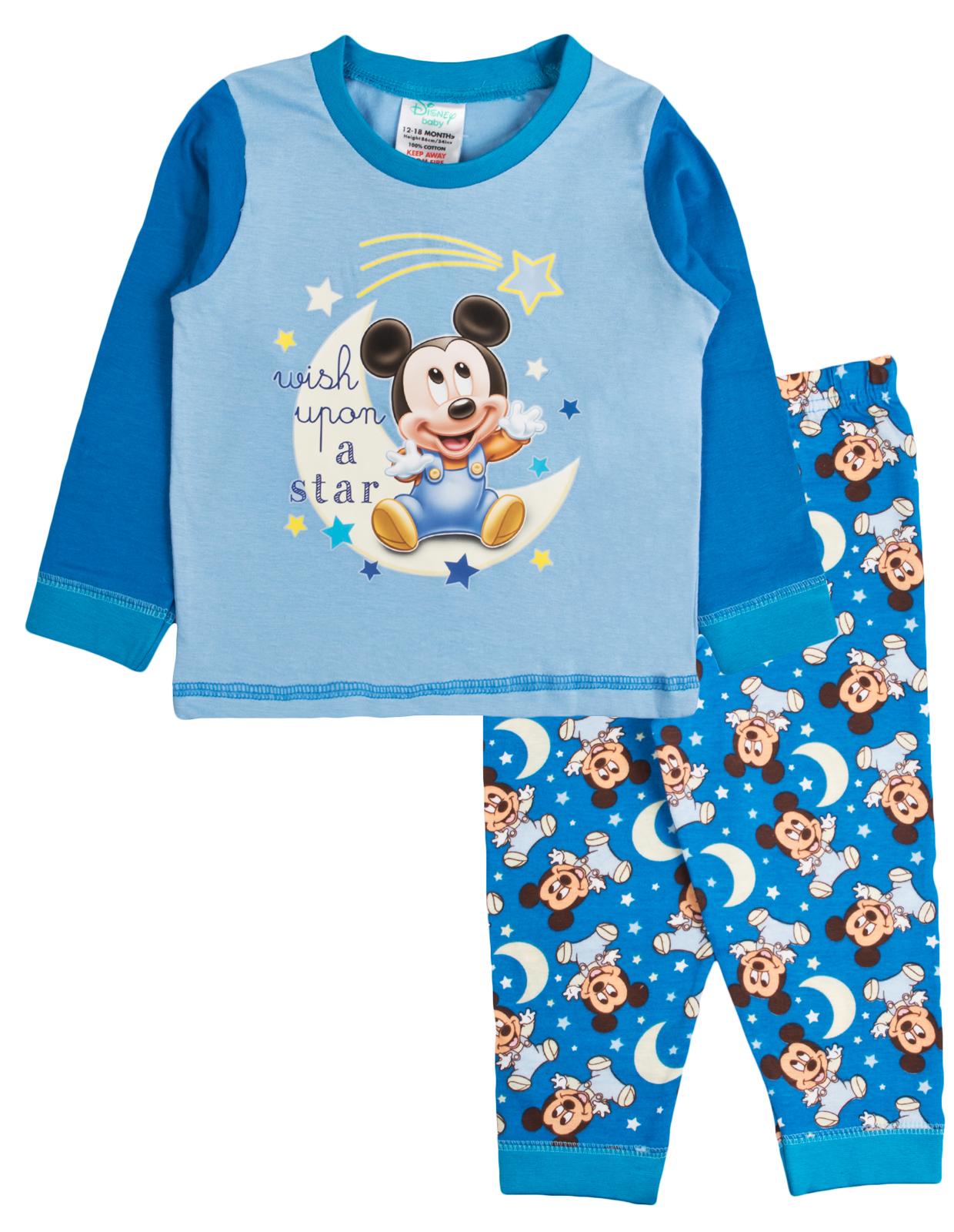 13100b6f4e4b Baby Boys Pyjamas Kids Toddlers Disney Mickey Mouse Pjs Clubhouse ...