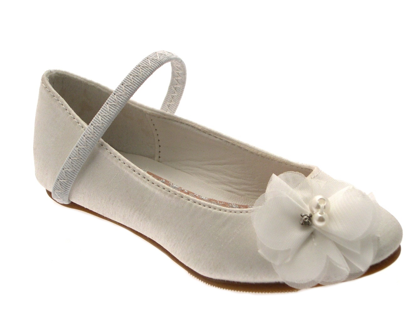 Kids High Heels Formal Wedding Shoes Open Toe Party Sandals Flower