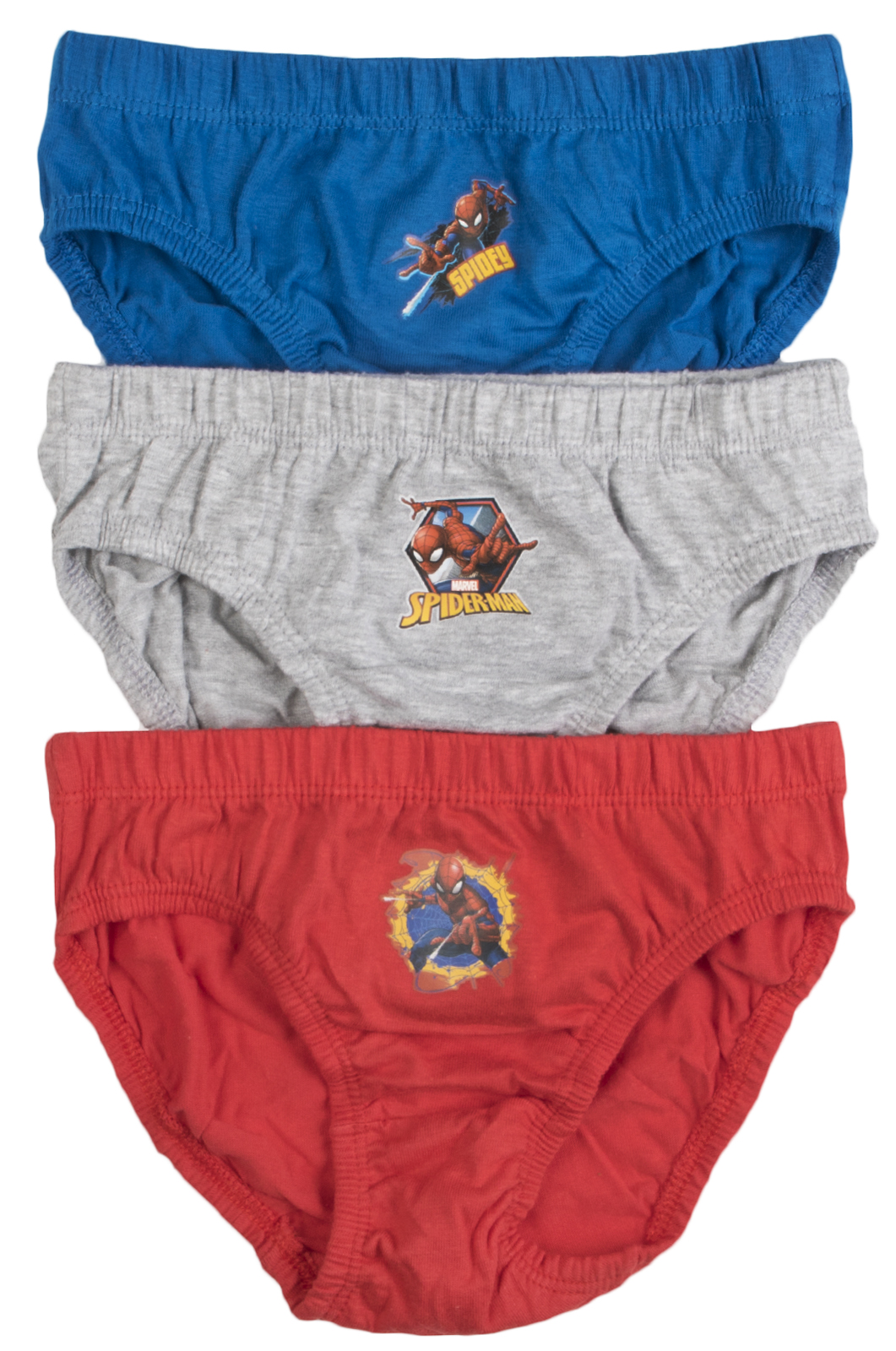 3 Pairs Boys Childrens Marvel Avengers Character Briefs Cotton Pants Knickers