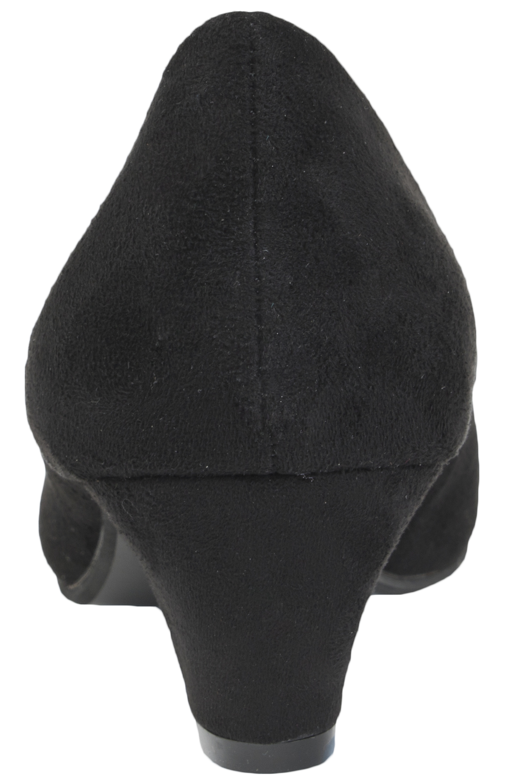 Ladies-Leather-Lined-Low-Block-Heels-Comfort-Work-Office-Court-Shoes-Ladies-Size miniatuur 3
