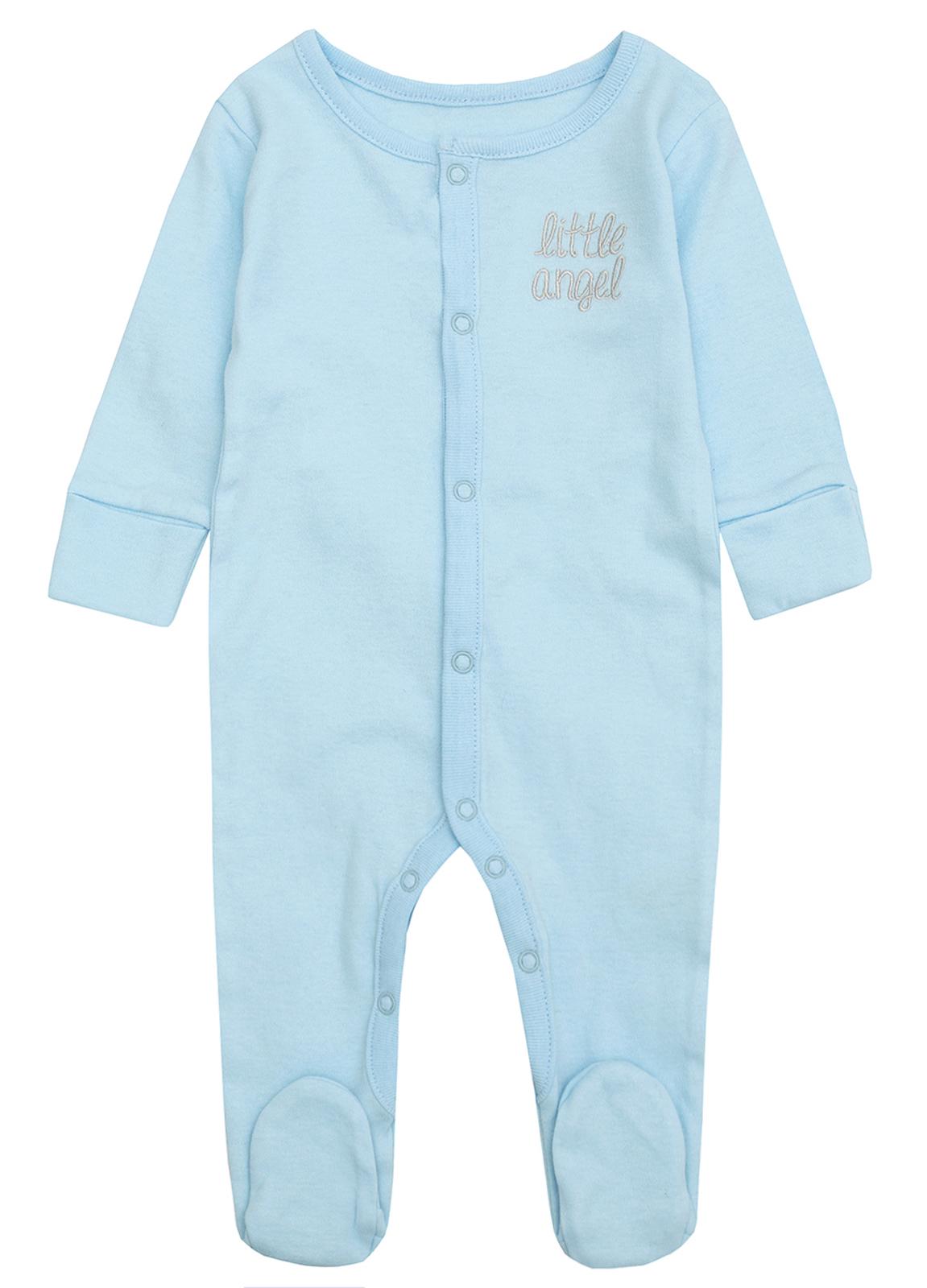 cac394fe3fe1 Baby Boys Girls Little Angel Wings Babygrow Sleepsuit Romper Baby ...
