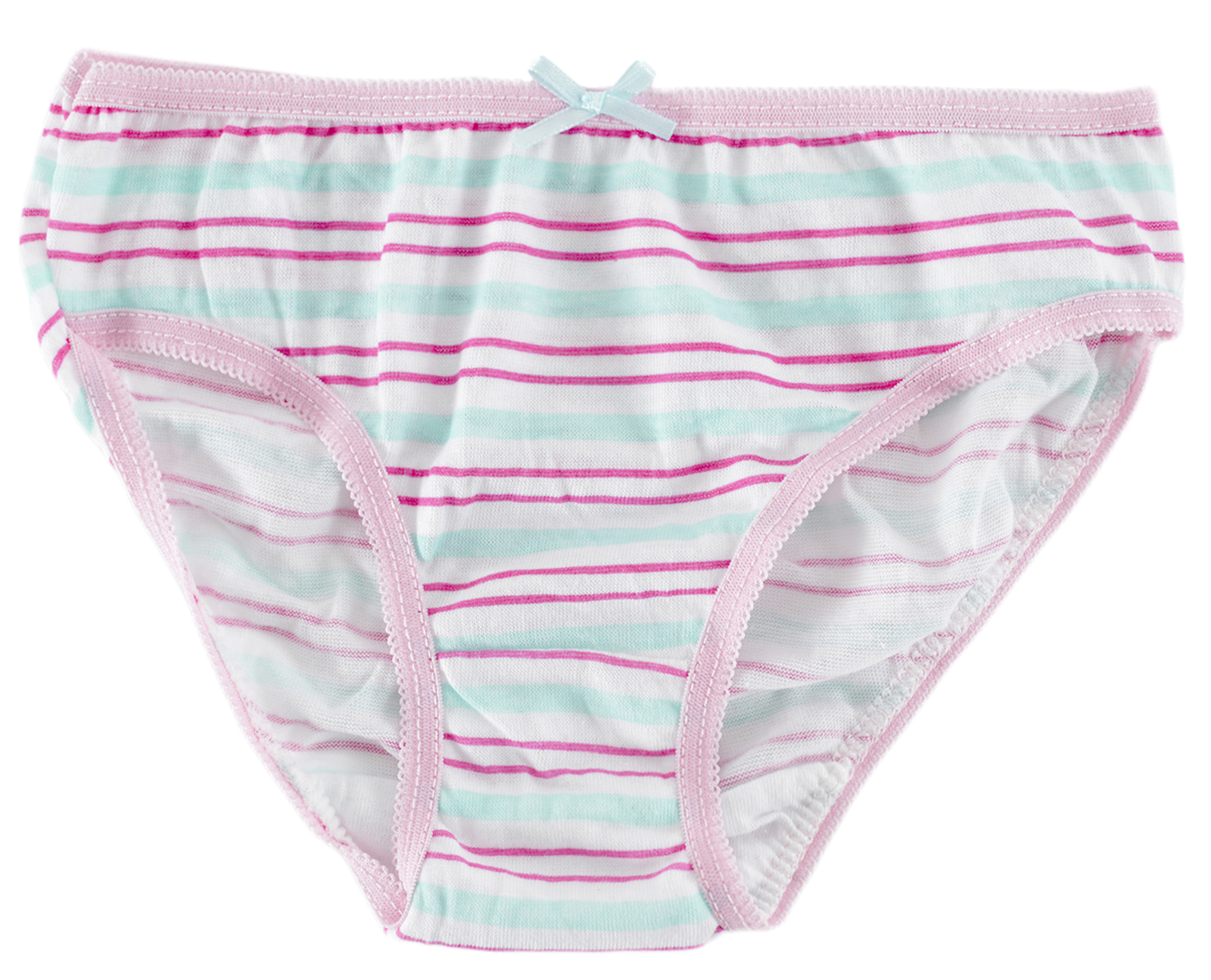 Kids Girls Boys 7 Pairs Pack 100% Cotton Briefs Knickers ...