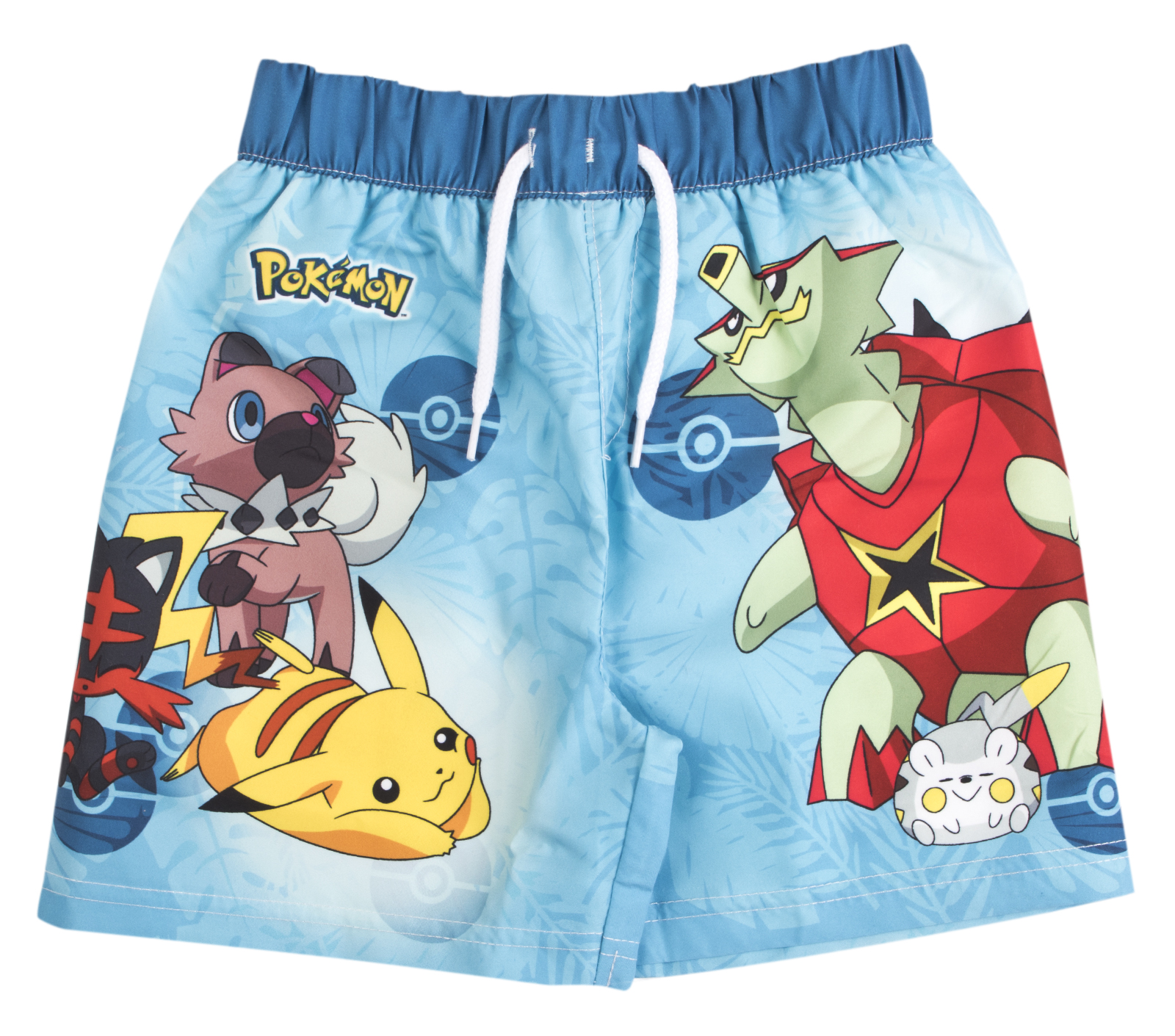 b66a941b35 Pokemon Swim Shorts Pikachu Summer Board Swimming Shorts Trunks Swimwear  Size