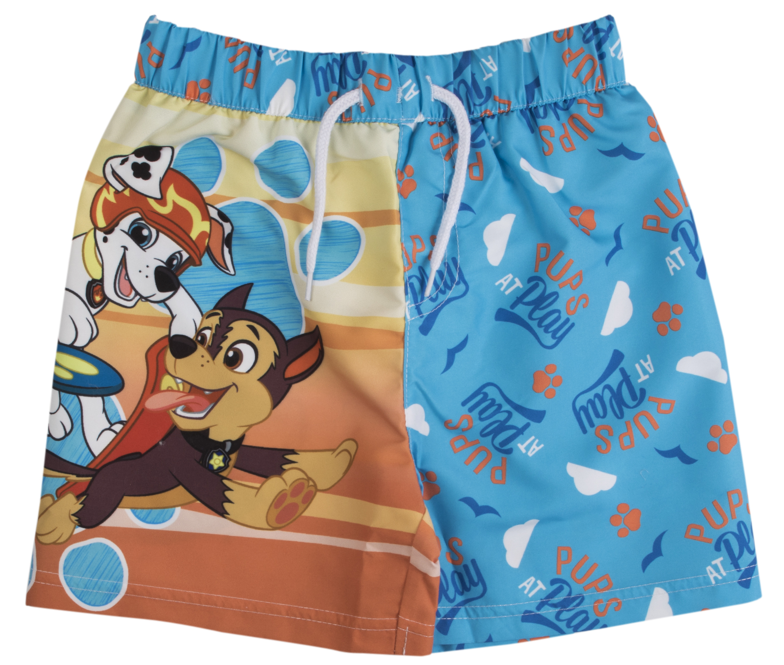 b65d616ab1 Swimwear, Surfwear & Wetsuits Sports & Outdoors Licensed Boys Paw Patrol  Beach Pups Swim Shorts