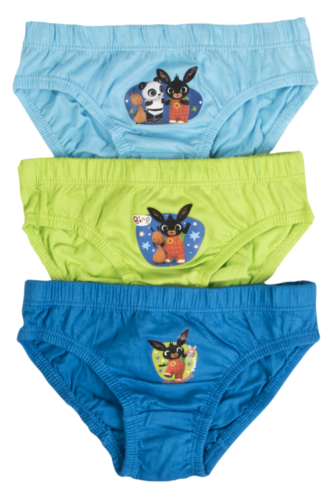 3 Pairs Boys Character Underwear 100% Cotton Briefs ...