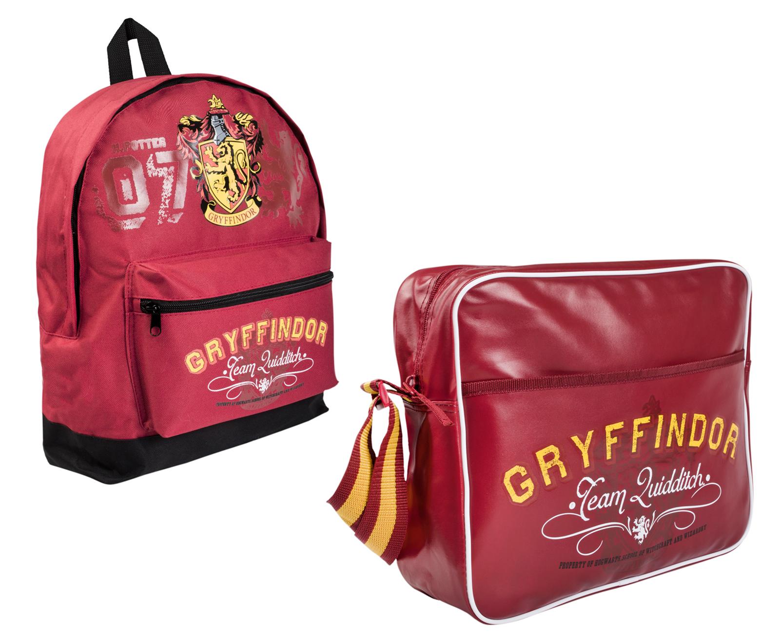 e99ffcc1a57c Harry Potter Shoulder Bag Gryffindor Messenger School Bag Backpack Rucksack