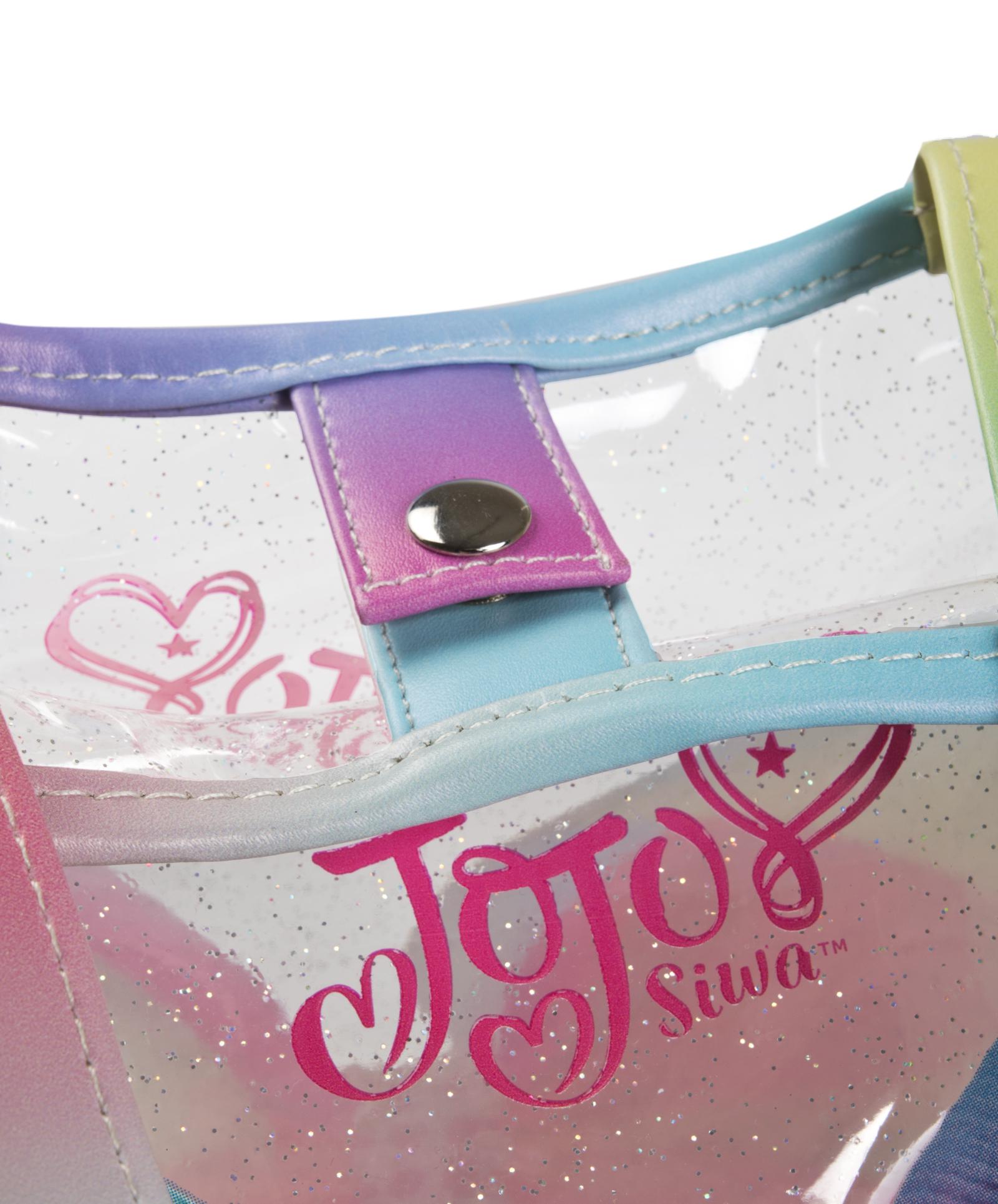 Jojo-Siwa-Mochila-Bolsa-de-Hombro-acarreo-3D-Arco-Mochila-Bolsa-De-Verano-Fiesta-De-Pijamas-Ninos