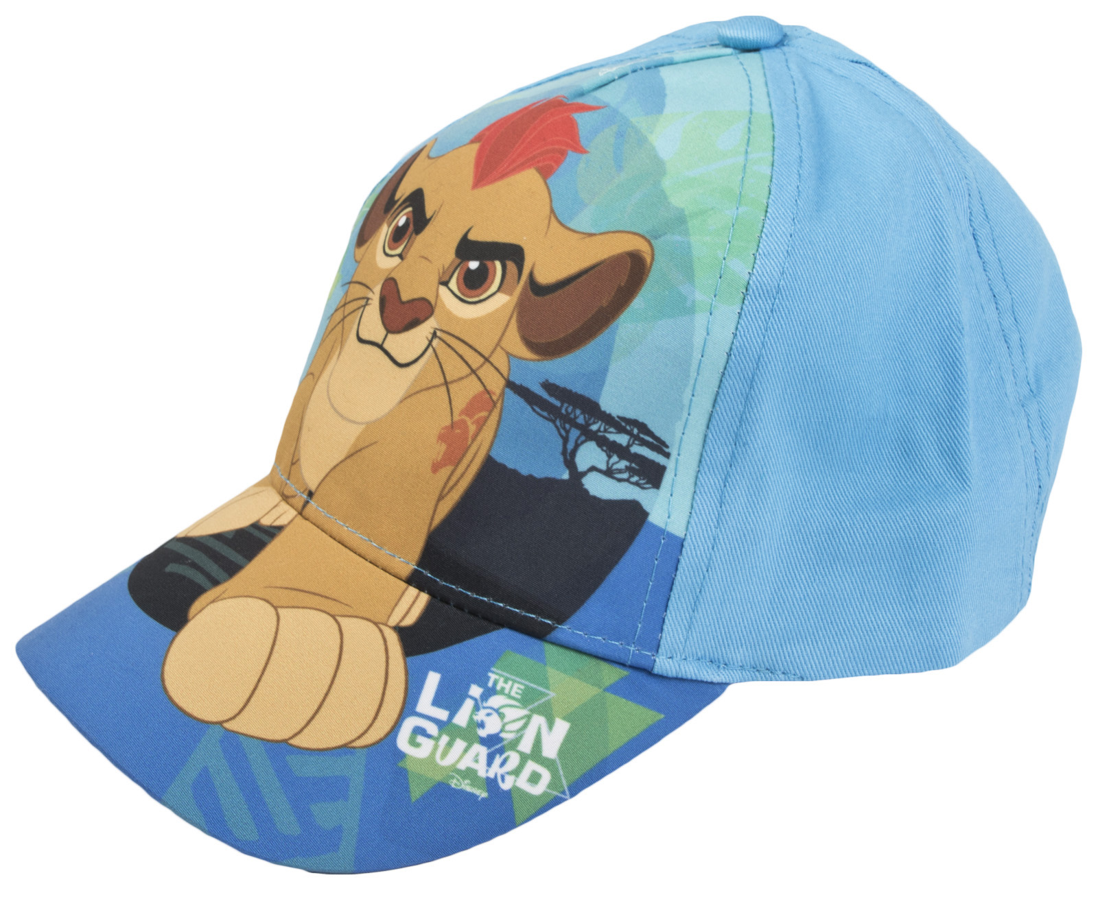 Boys Disney Lion Guard Baseball Cap Character Peaked Summer Hat Kion Kids Size