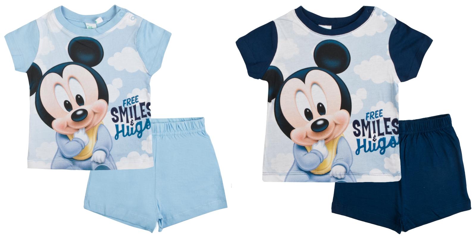 3a2dcc5bda17 Disney Mickey Mouse Baby Boys Short Pyjamas Infants Shortie Summer ...
