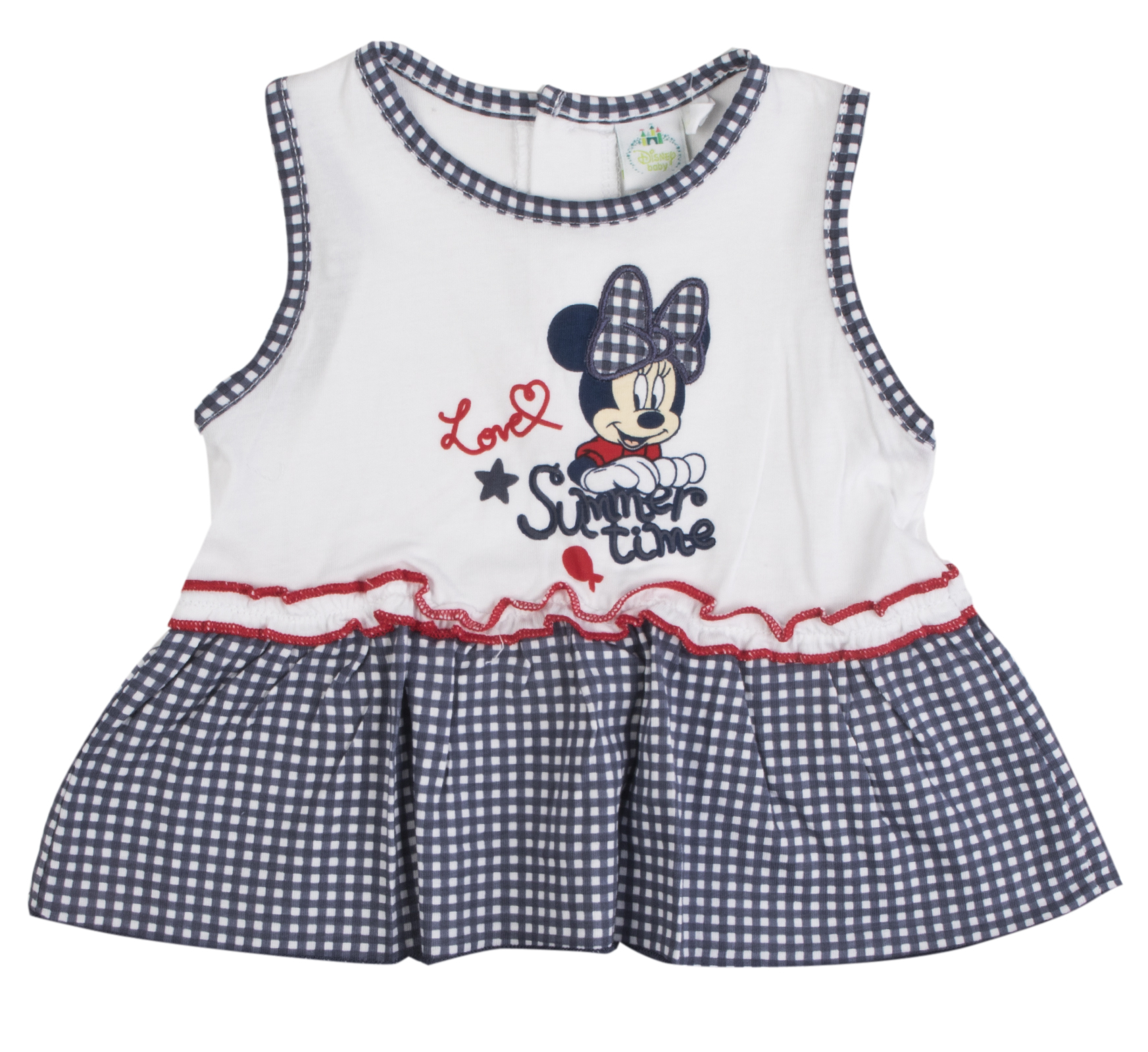 1afec0b1c Disney Minnie Mouse Outfit 3 Piece Set Dress Leggings + Cardigan ...