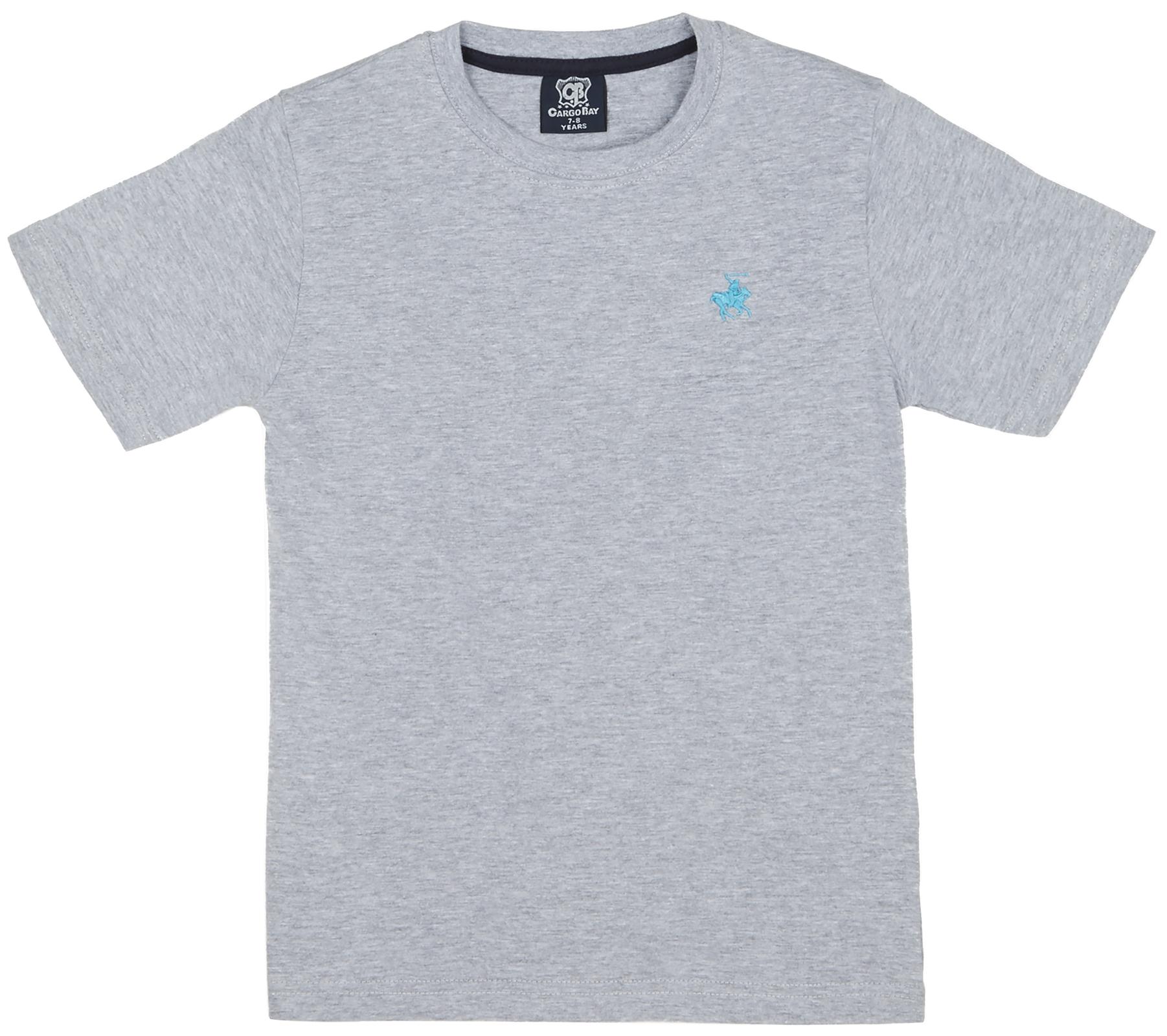 08ba5040c12 Boys Polo Top Or Casual Summer T Shirt Embroidered Logo Short Sleeve ...