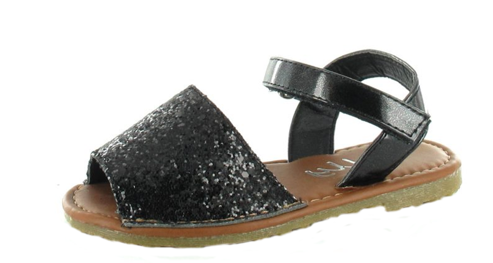 New Girls Infants Fancy Menorcan Spanish Sandals Summer