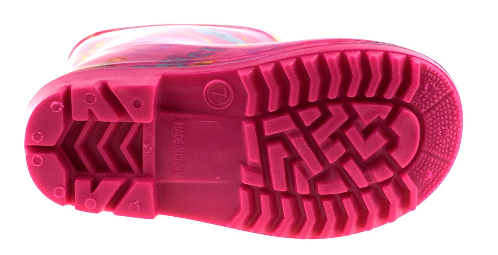 Girls-Peppa-Pig-Wellington-Boots-Mid-Calf-Gitter-Snow-Rain-Wellies-Kids-Size Indexbild 27