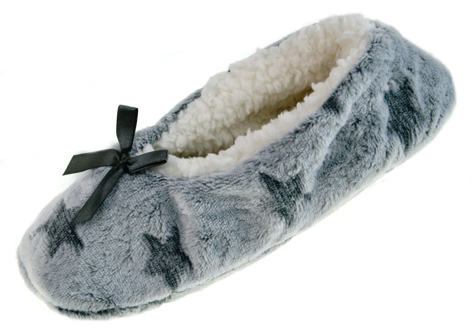 Ladies Christmas Slipper Socks 3D Xmas Footlets Novelty Ballet Mules Gift Size
