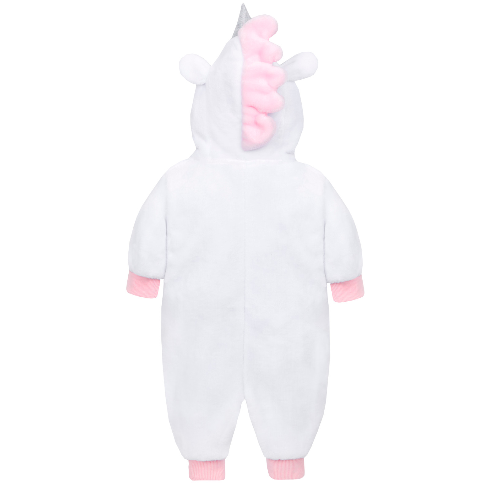 f7990e37b Baby Girls Novelty Fleece Animal All In One Newborn Winter Pramsuit ...