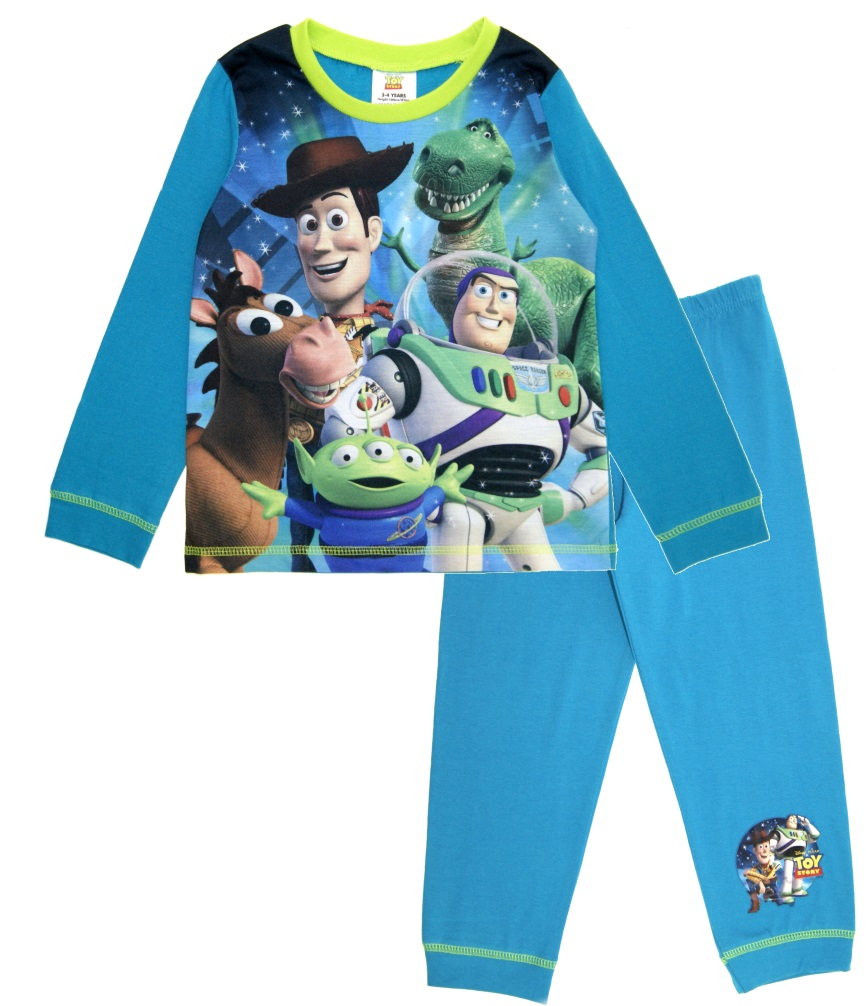 9943581f8 Kids Boys Official Disney Toy Story Buzz Woody Pyjamas PJ s Set Size ...