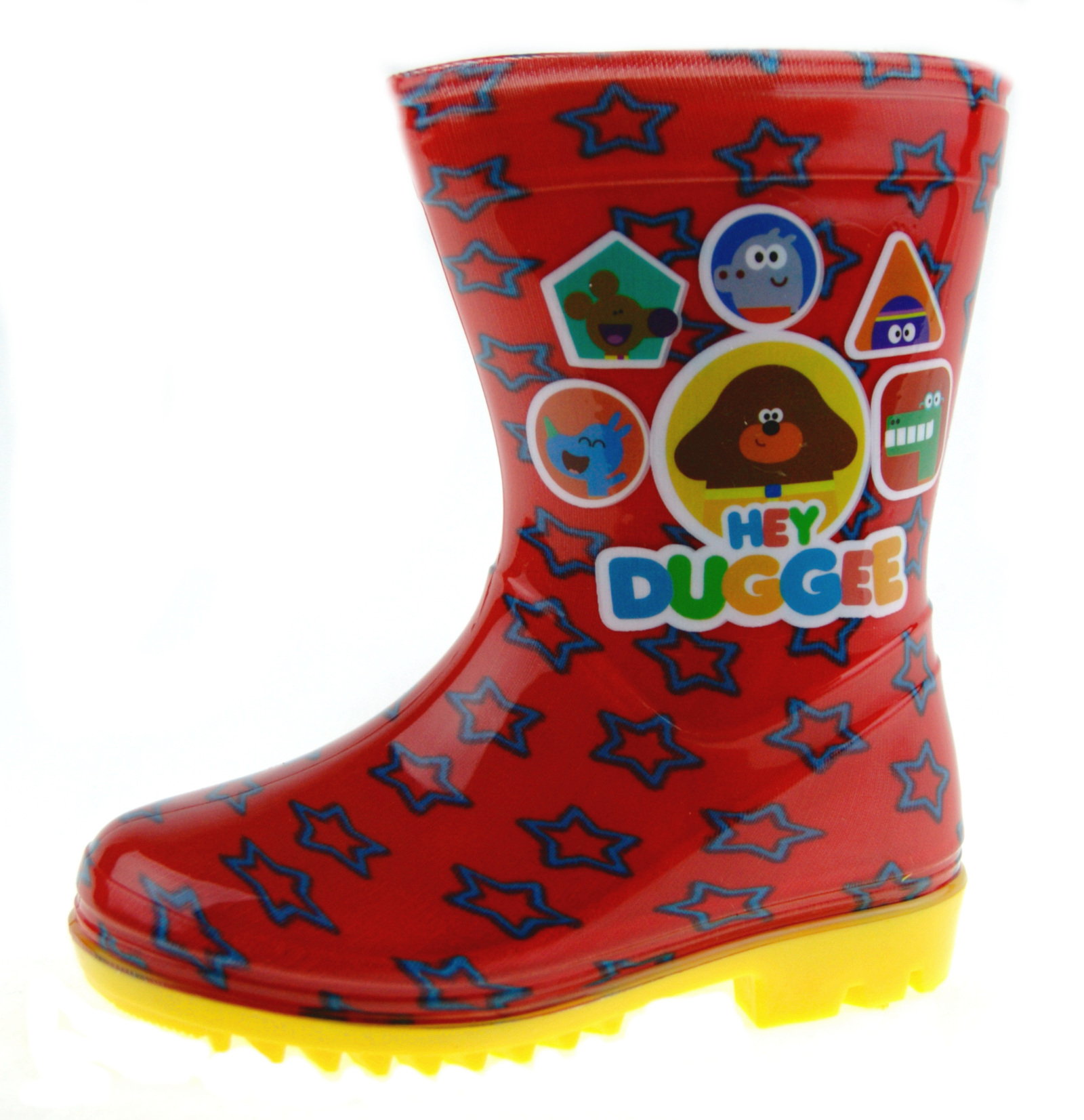 Hey Duggee Girls Wellington Rain Boots Wellys