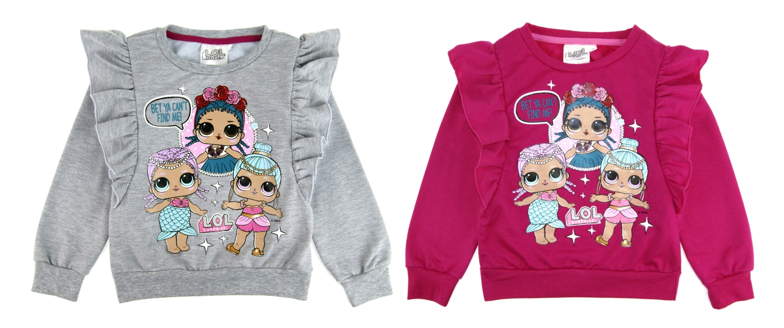 Girls Children LOL Surprise Sweater//Jumper