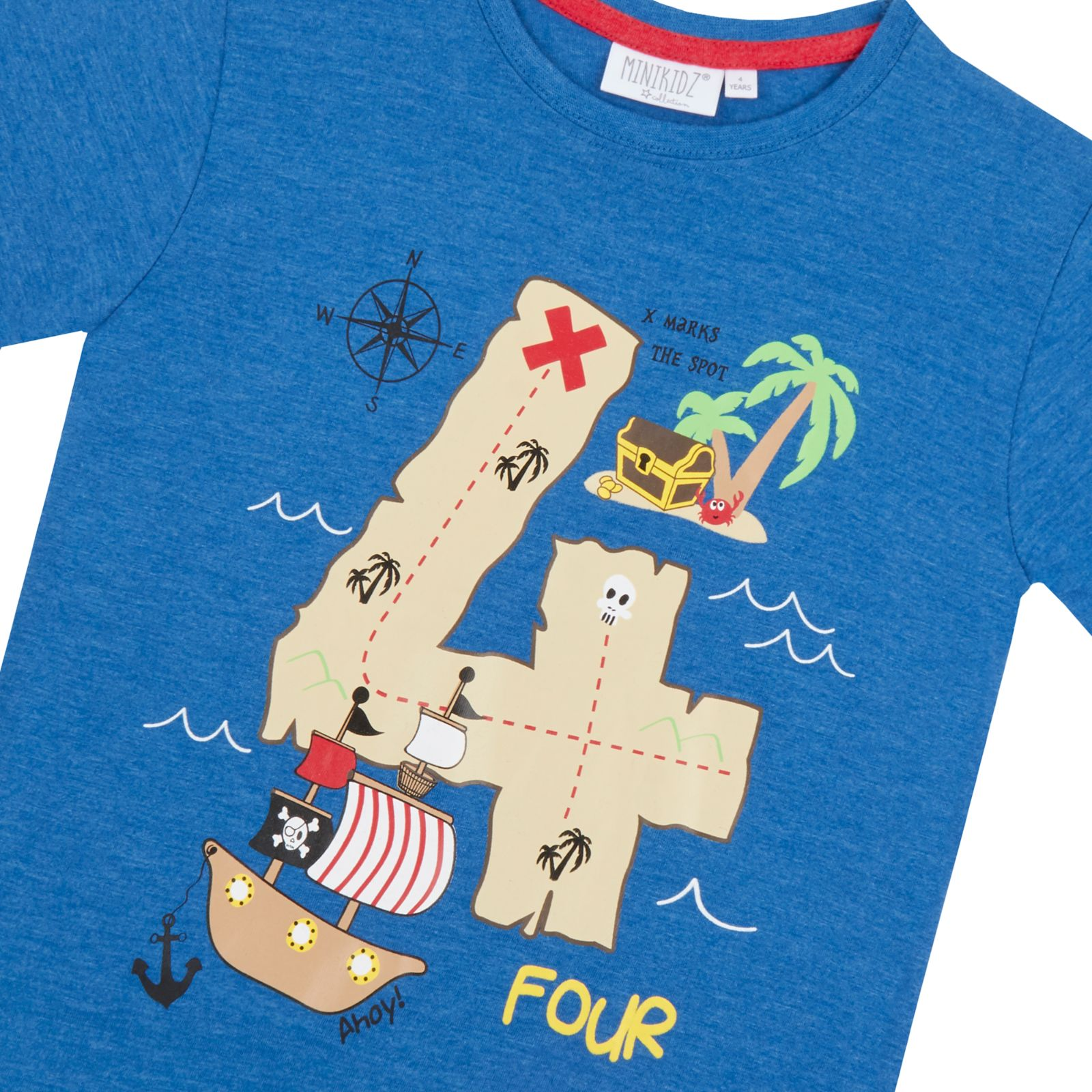 fa8a626f Boys Novelty Birthday I Am 1 2 3 4 5 6 Age Number T Shirt Short ...