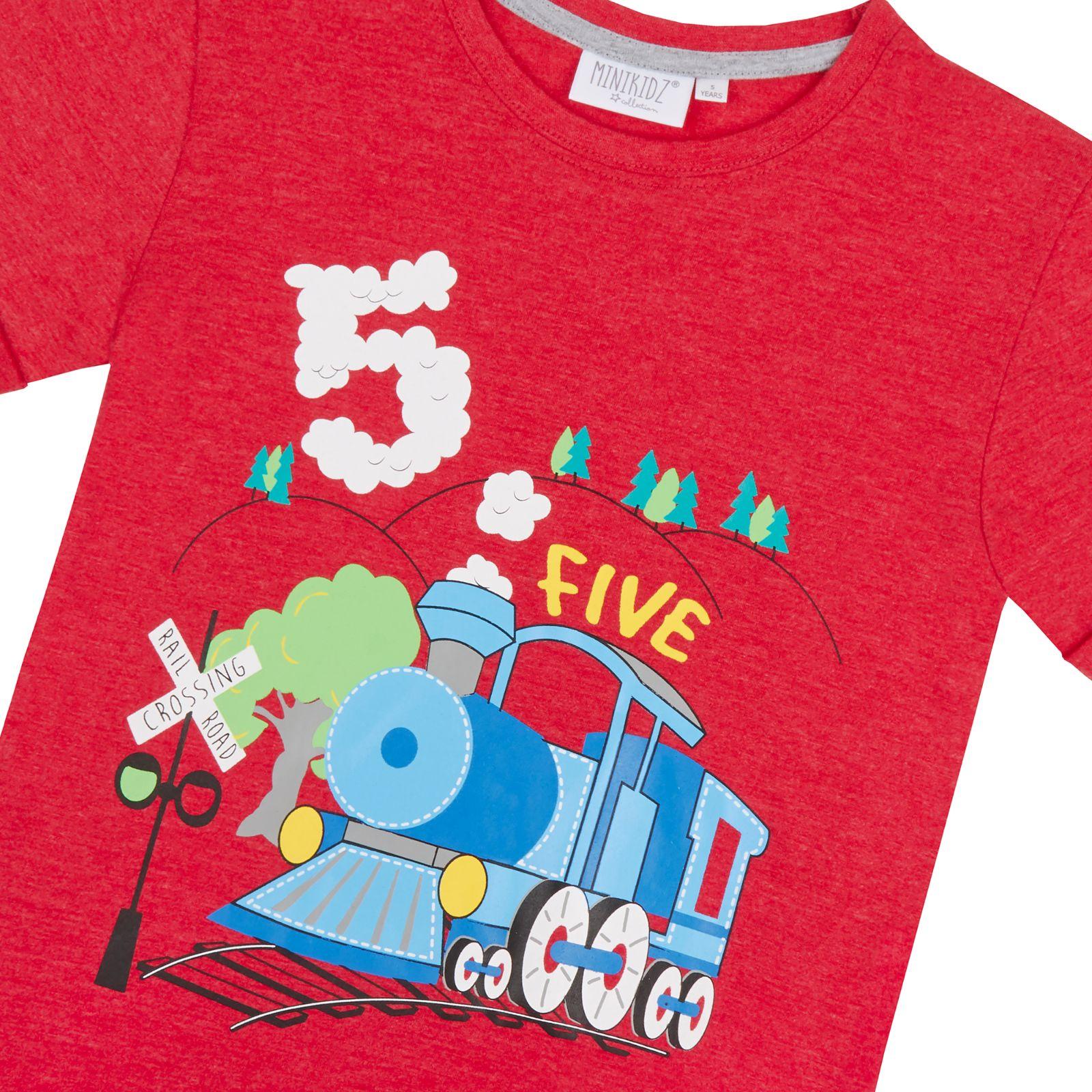Sono Ragazzi Compleanno Età Numero T-Shirt Regalo 1 2 3 4 5 6 anni Top Shirt