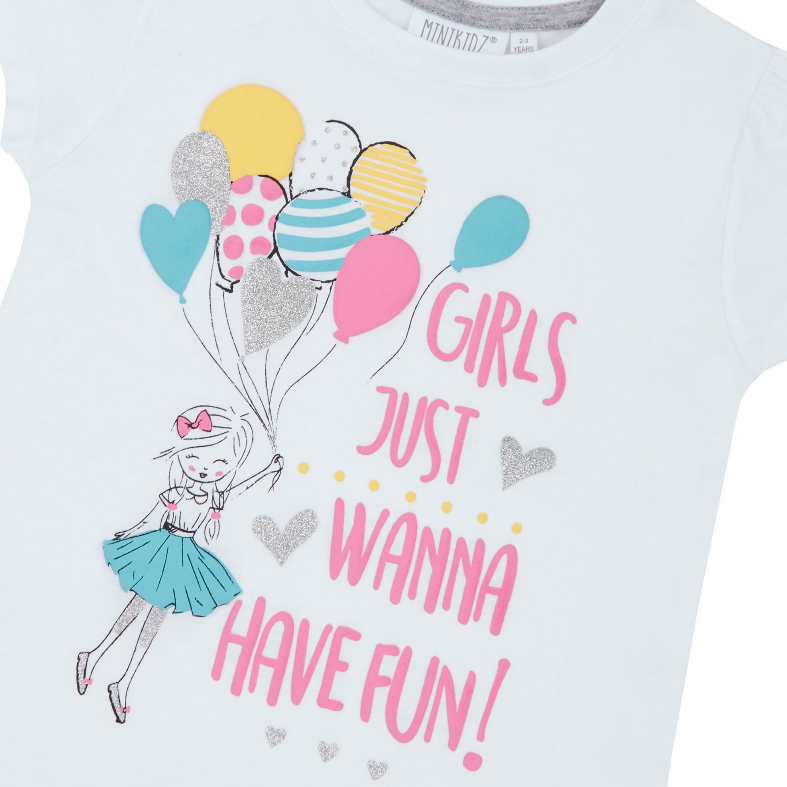 7f48efacd Girls Short Sleeve Mermaid Unicorn T Shirt Slogan Top Ballerina ...