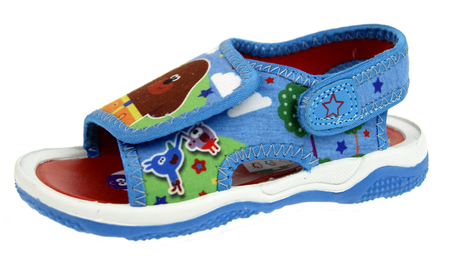 Hey Duggee  Blue Summer Beach Holiday Sandals UK Sizes Child 5-10