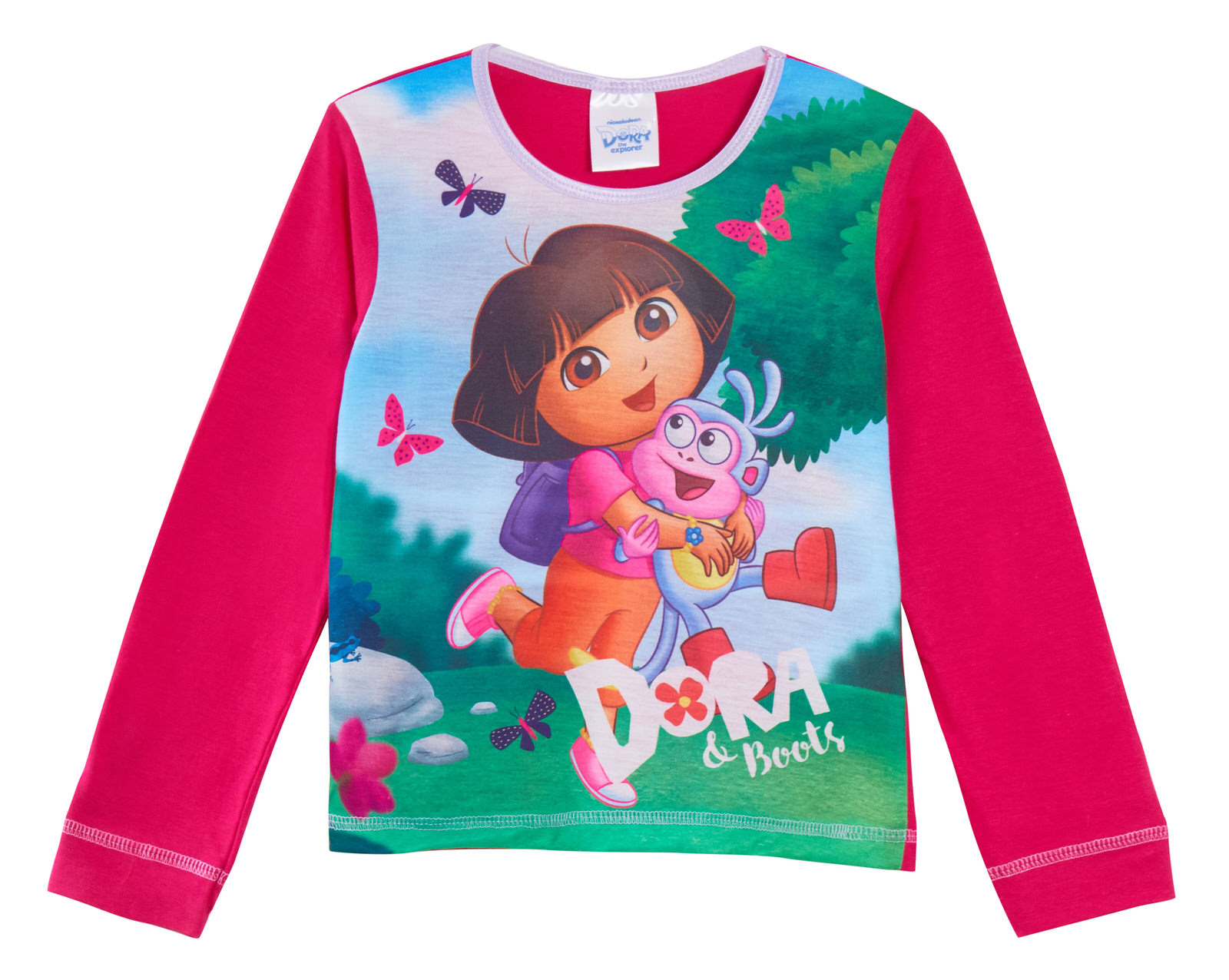 18 Months to 5 Years Dora The Explorer Infant Girls Pyjamas Various Designs
