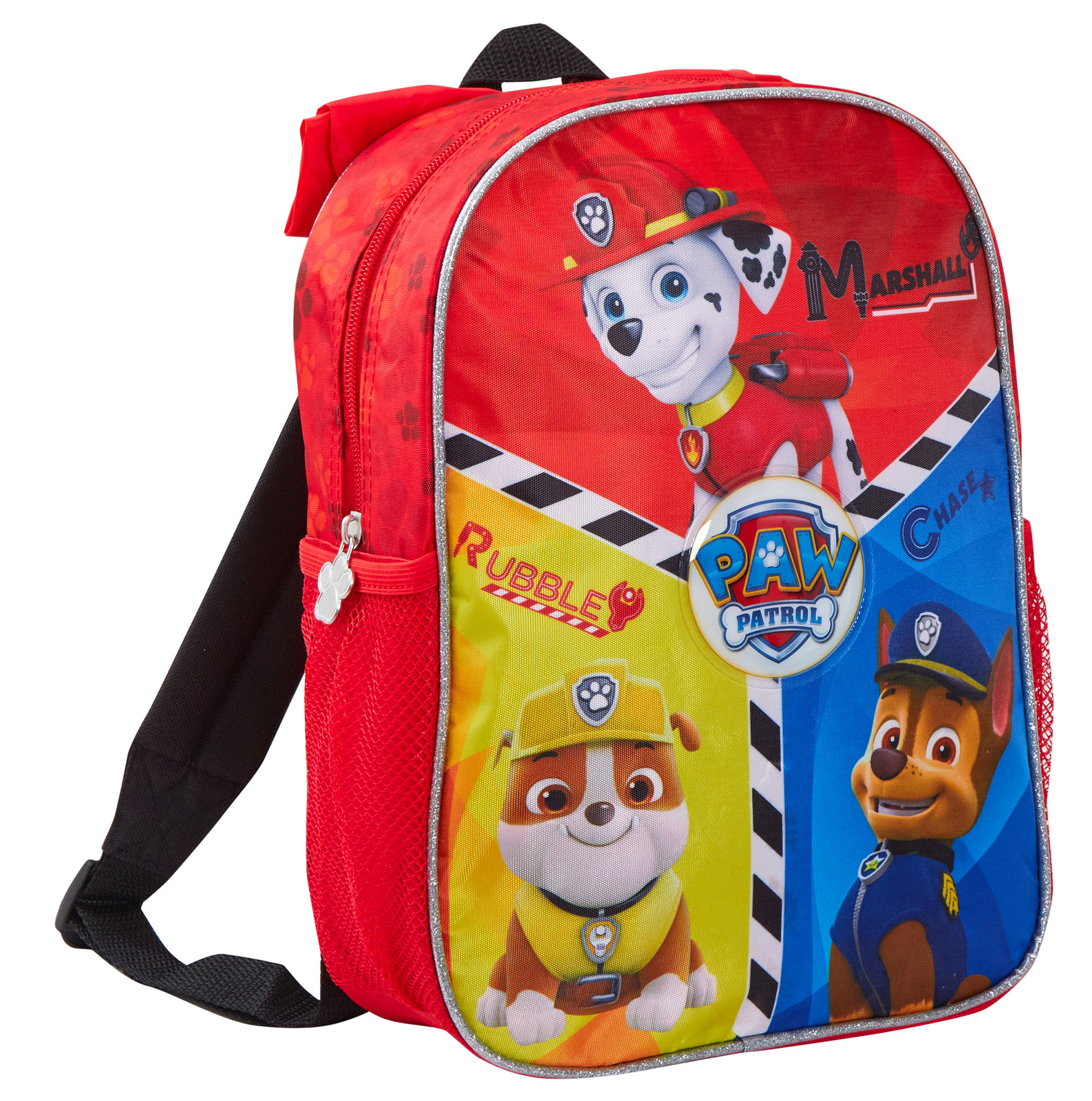 Paw Patrol Boys School Book bag Backpack Kids Marshall Chase Rubble Toy Gift 14/""